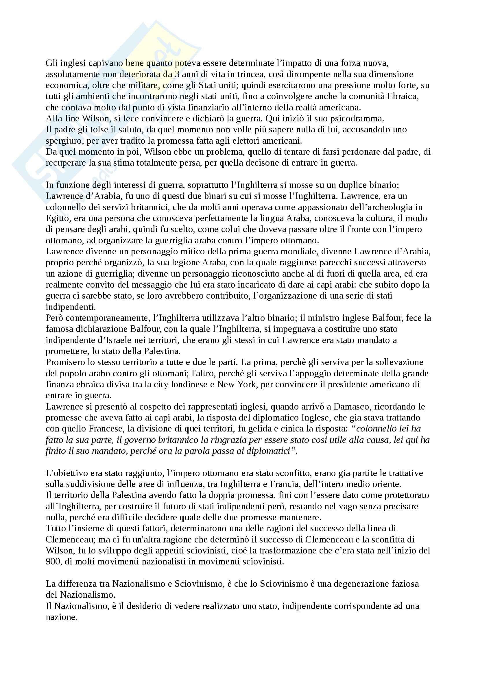 Riassunto esame Storia Contemporanea, prof. Amato Pag. 71