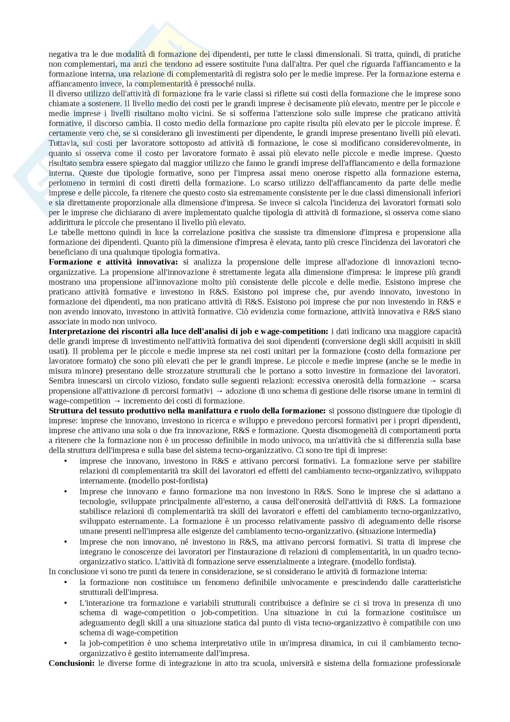 Riassunti esame economia, prof. Favretto, libro consigliato Manuale Ghisla Pag. 16