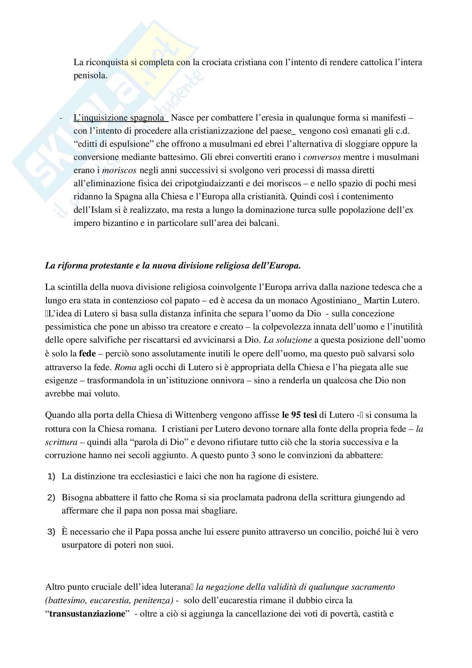 Riassunto esame Diritto ecclesiastico, Professore Cardia, libro consigliato Principi di diritto ecclesiastico Pag. 11