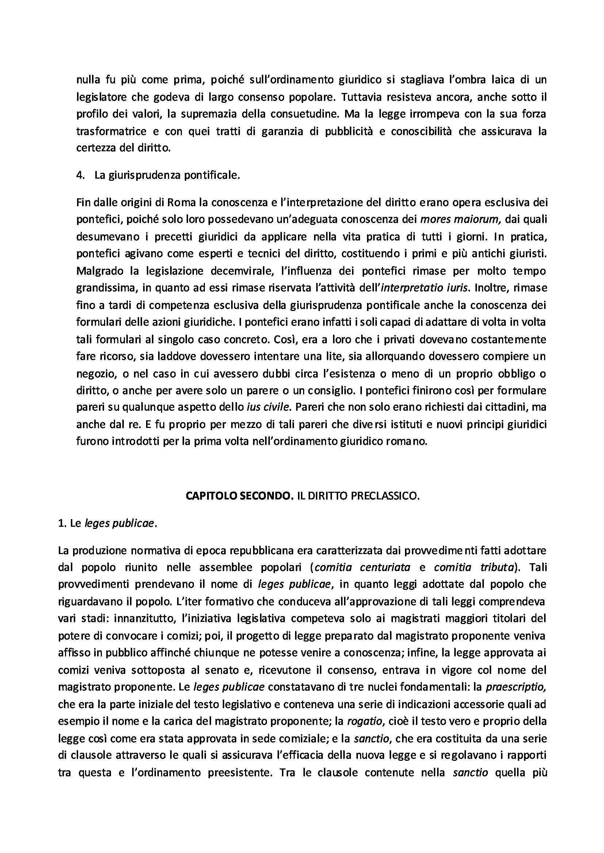 Le fonti di produzione del diritto romano - Riassunto esame Pag. 2