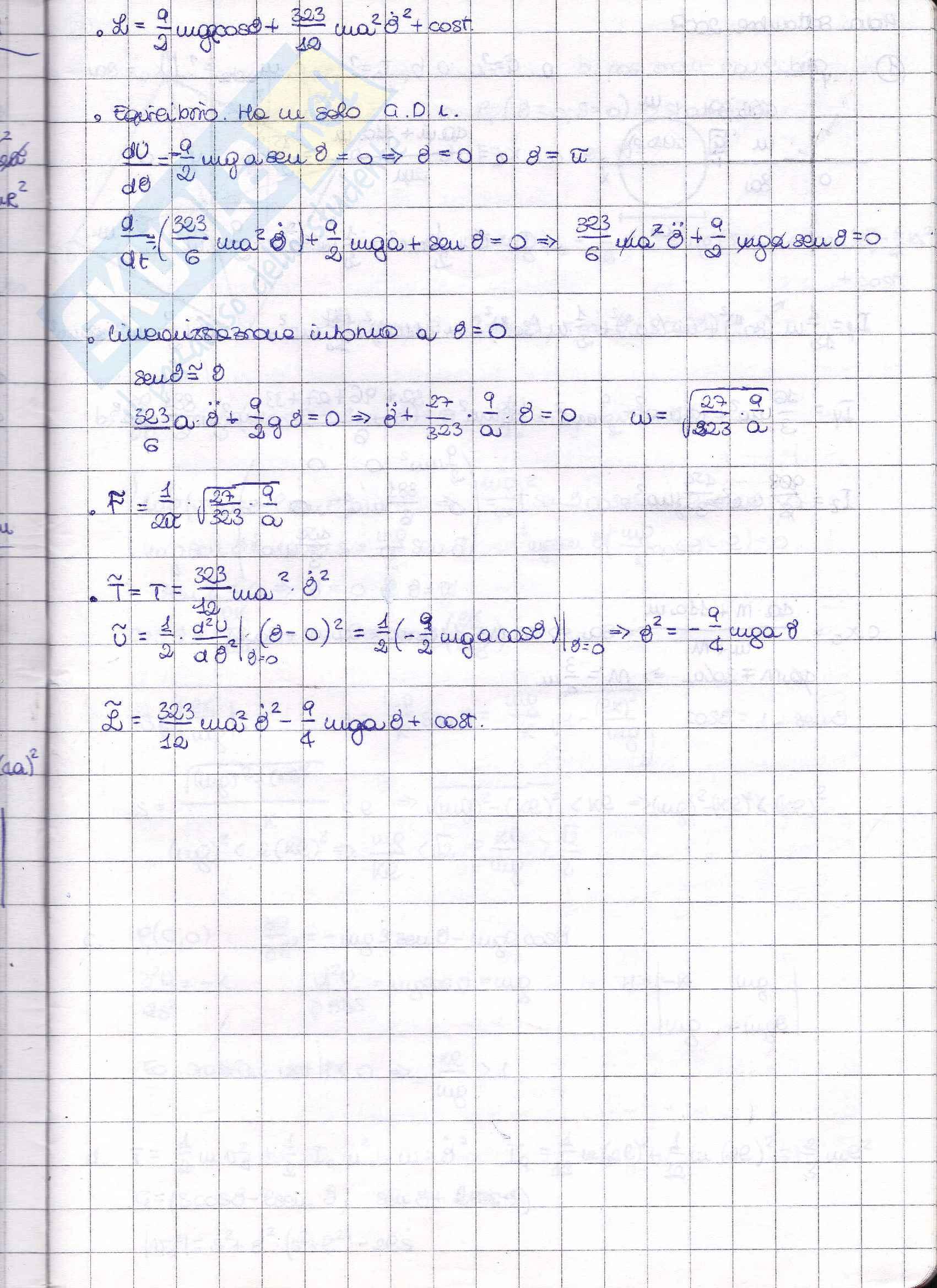 Esercizi di fisica matematica Pag. 36
