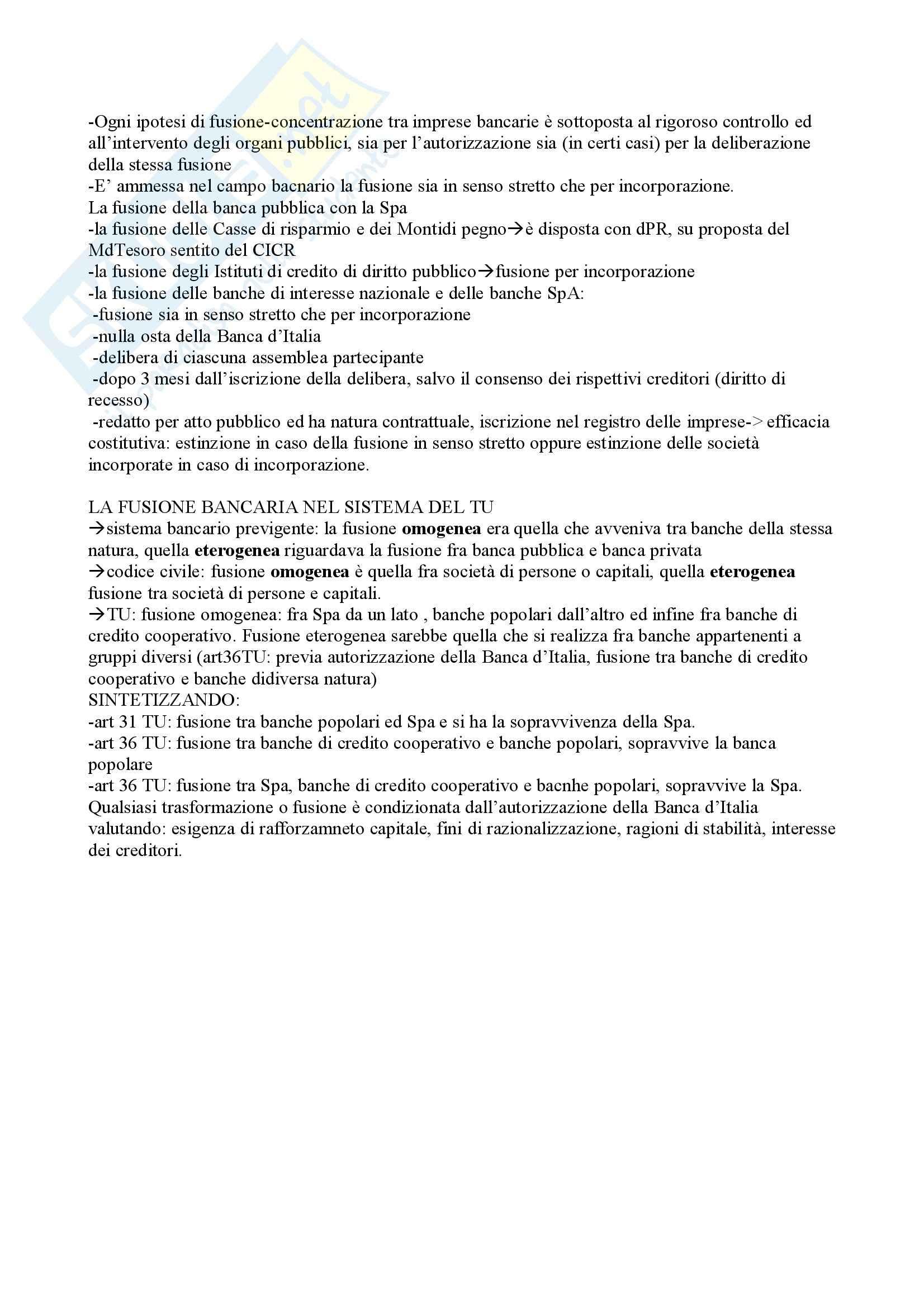 Diritto bancario - Riassunto esame Pag. 21