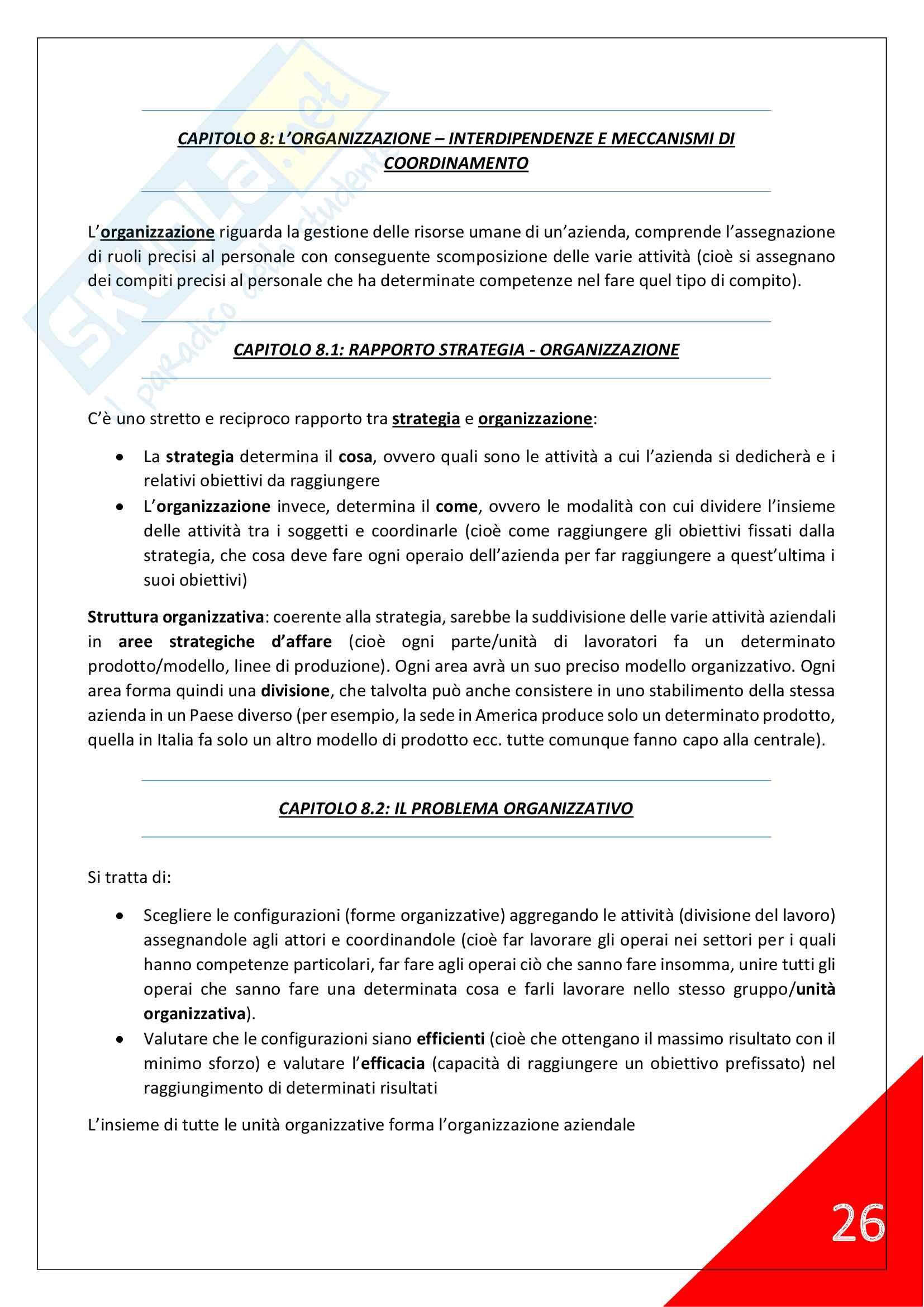 Economia Aziendale - 1° Anno Scienze Motorie Pag. 26