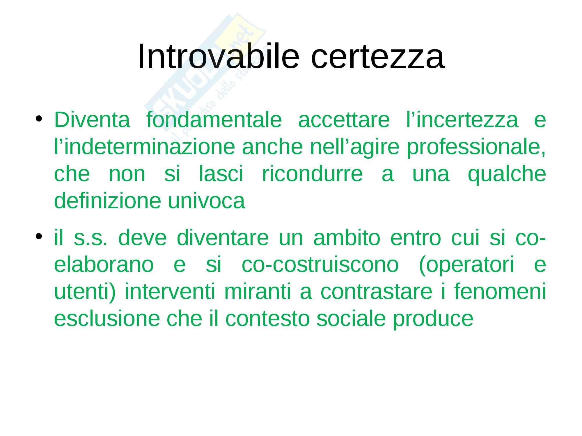 Storia del servizio sociale Pag. 46