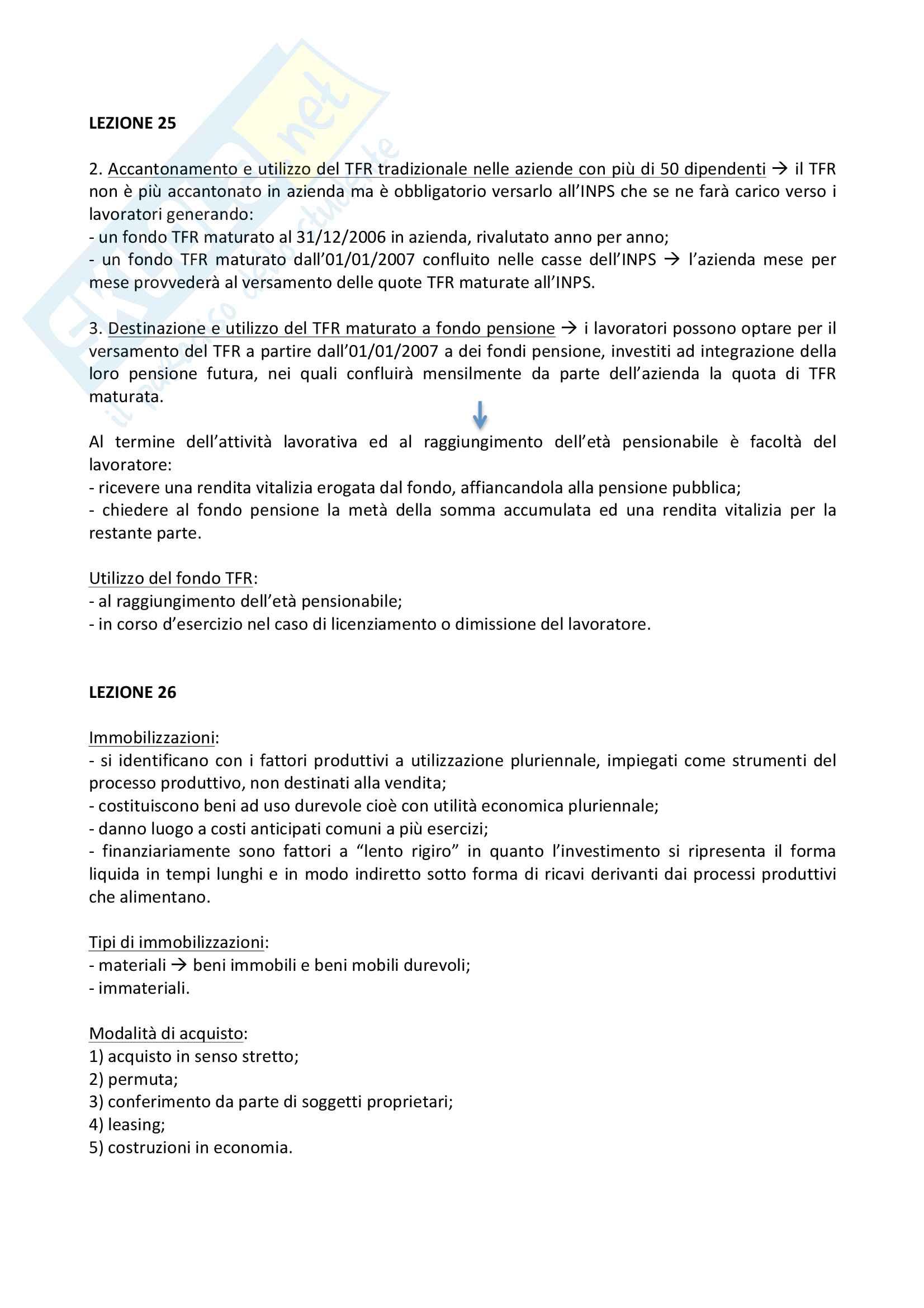 Ragioneria e contabilità aziendale, riassunti Pag. 16