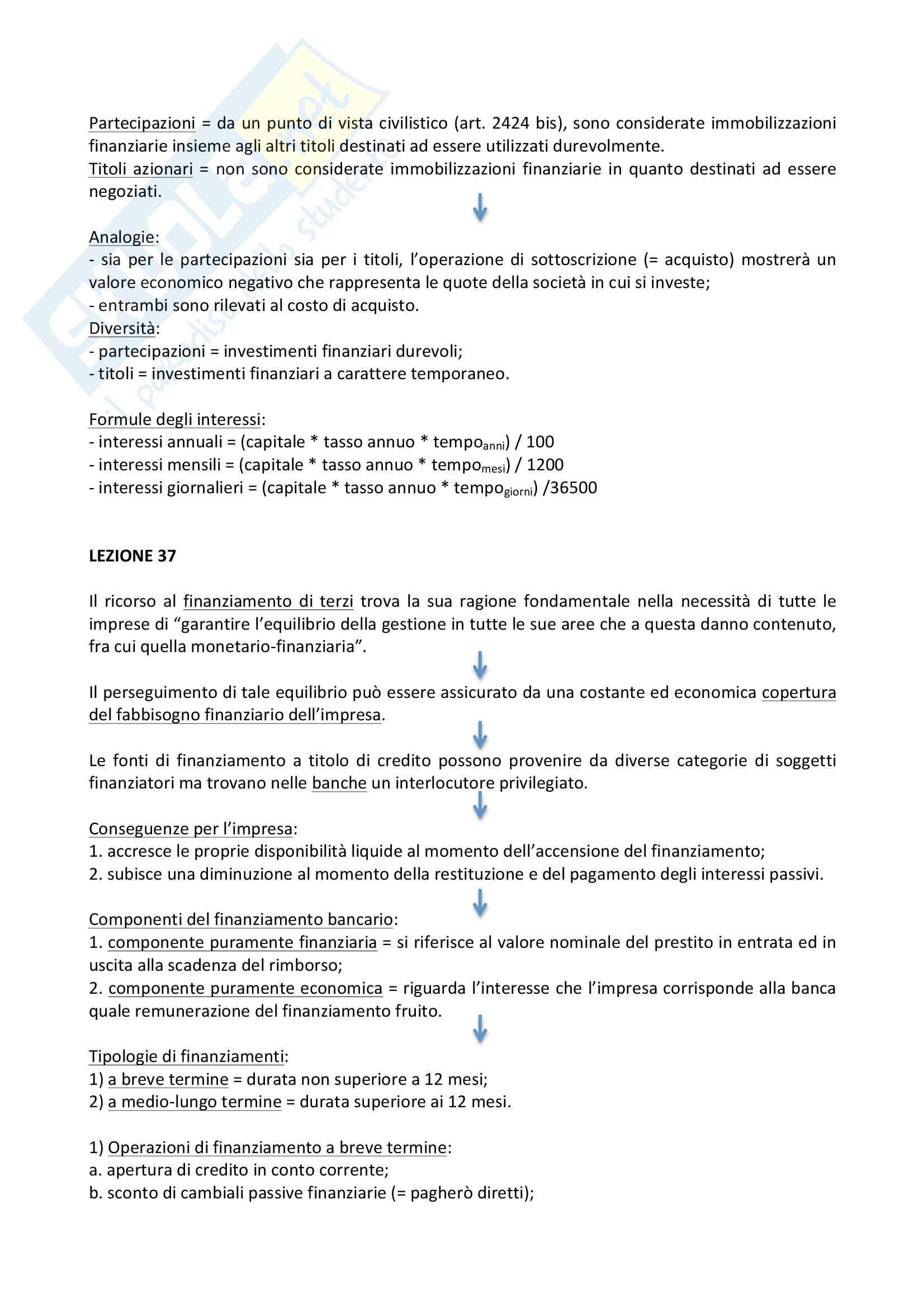 Ragioneria e contabilità aziendale, riassunti Pag. 21