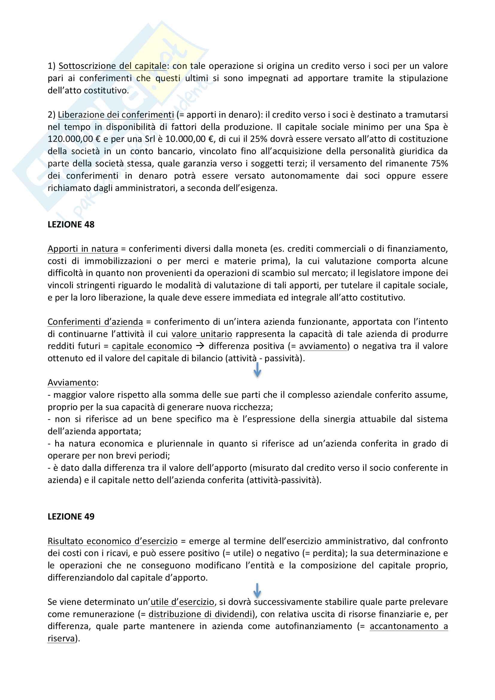 Ragioneria e contabilità aziendale, riassunti Pag. 26