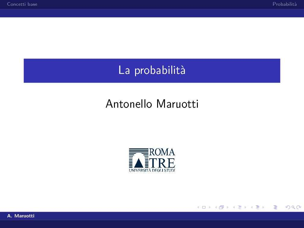 dispensa A. Maruotti Statistica