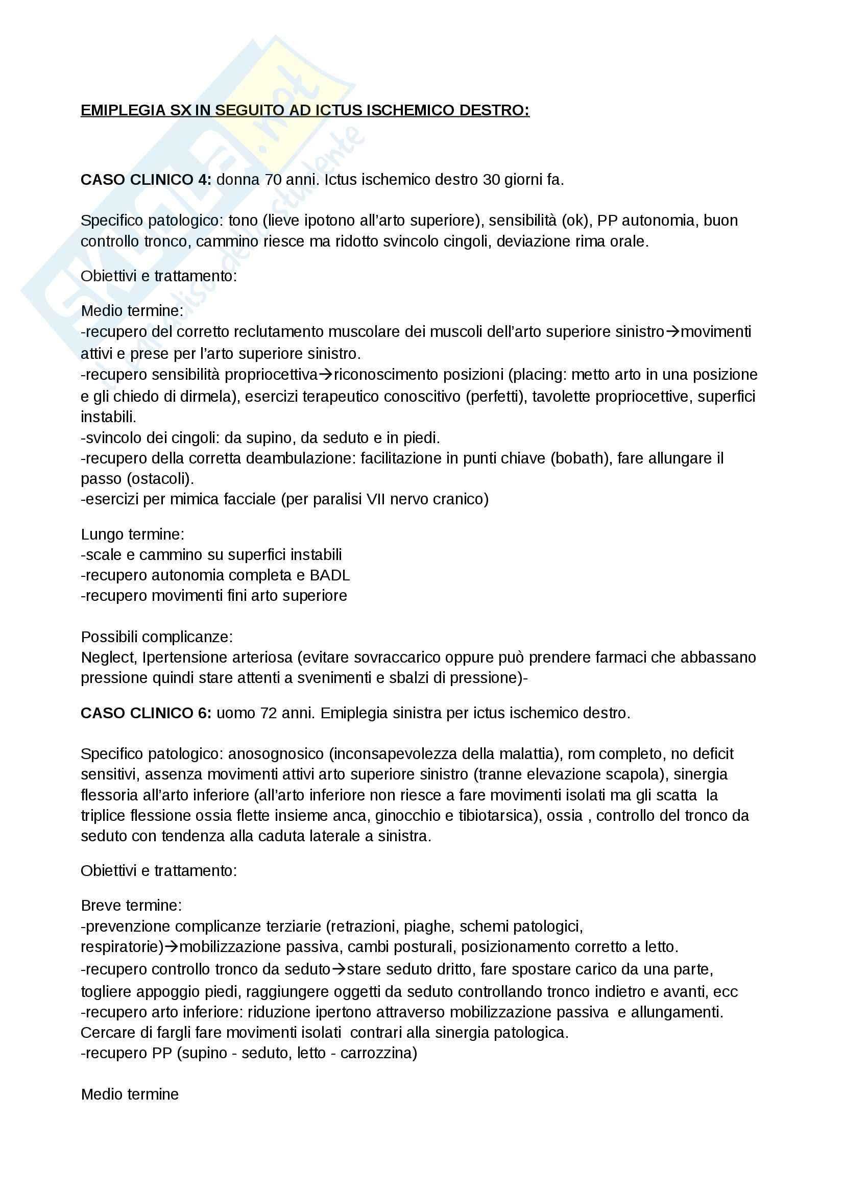 Riabilitazione neurologica - risoluzione dei casi clinici neurologici