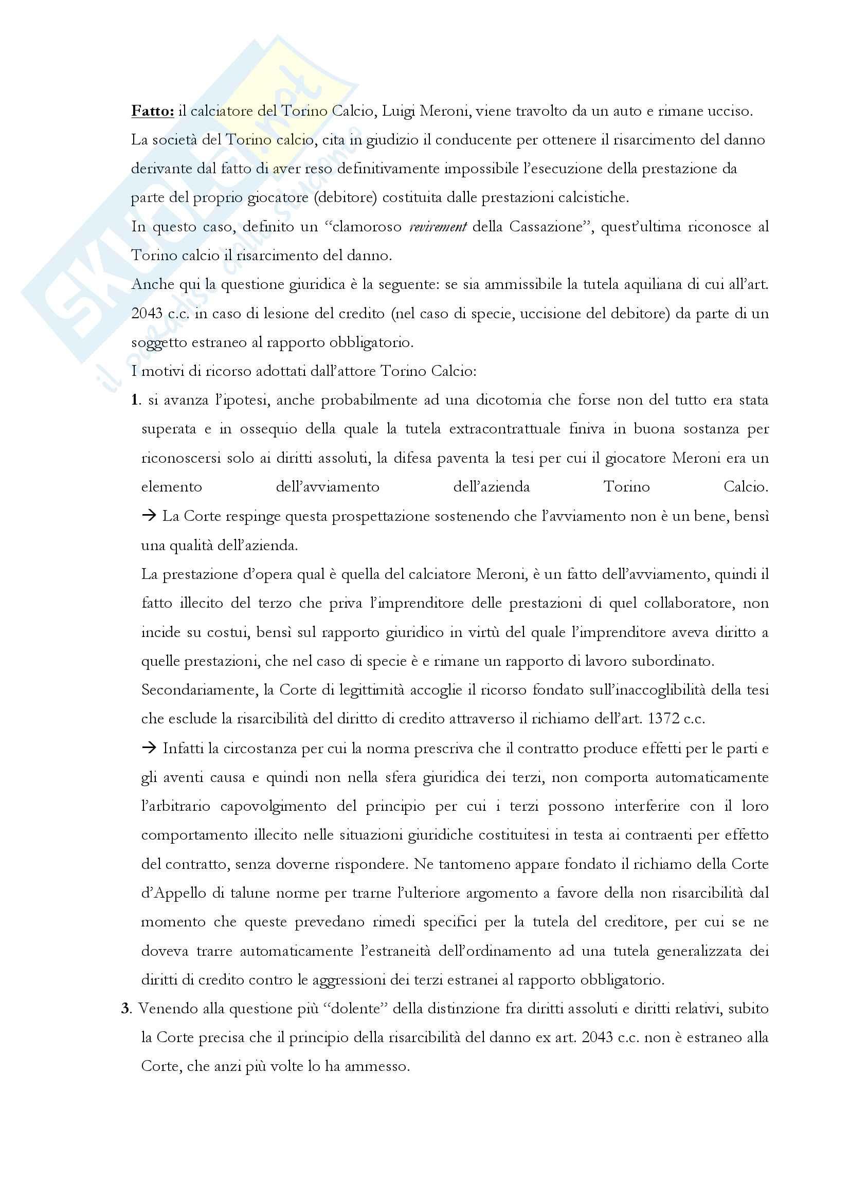 """Riassunto esame di """"Responsabilità d'impresa e consumatori"""", prof. Elena Bellisario Pag. 6"""