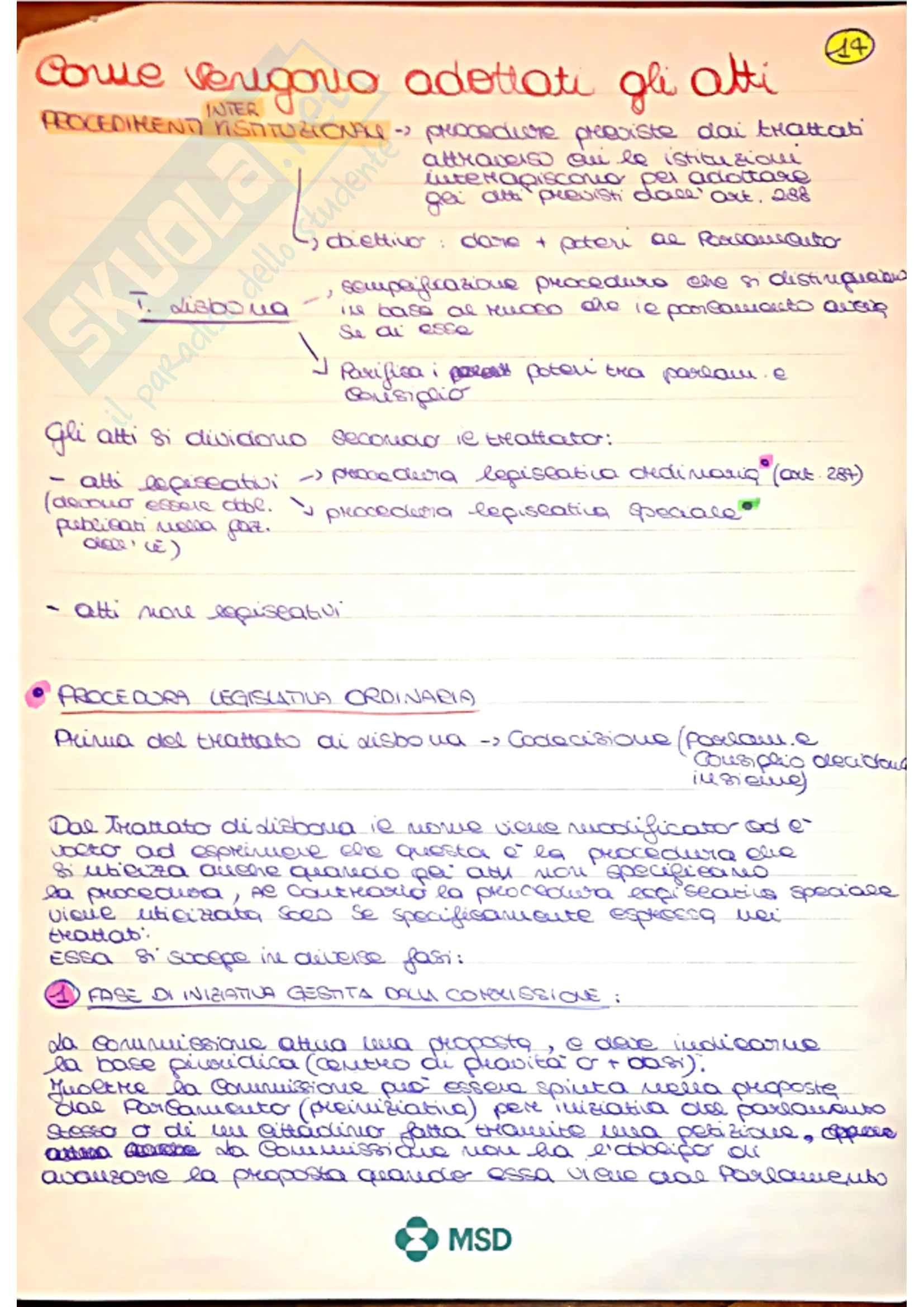 Diritto Dell'Unione Europea Pag. 26