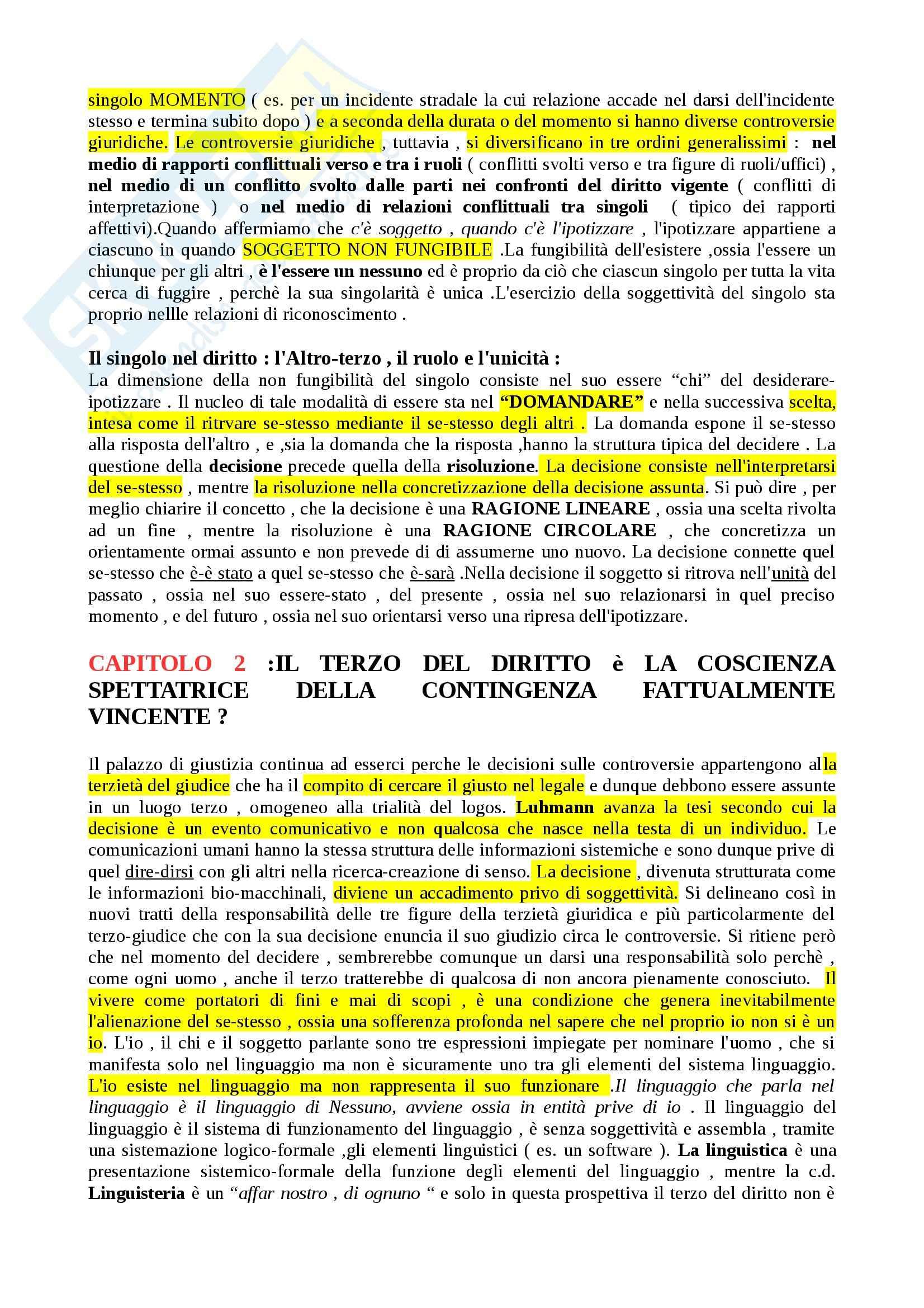Riassunto esame Filosofia del diritto, prof. Romano, libro consigliato Filosofia e filosofie del diritto Pag. 11
