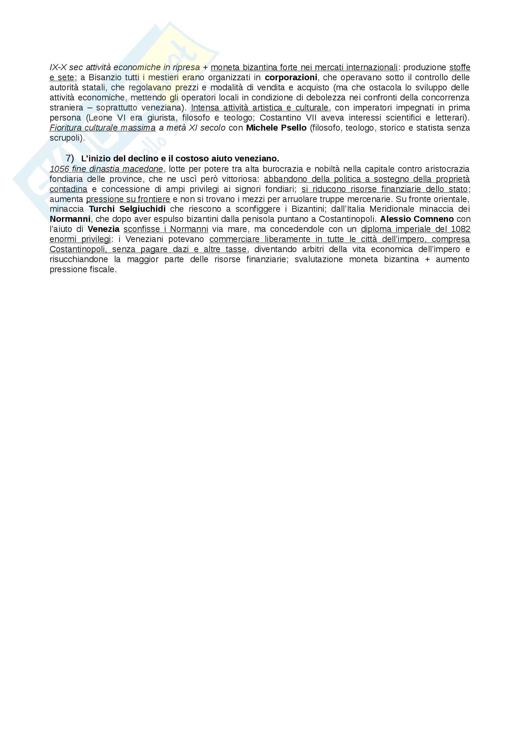 Riassunto esame Storia Medievale, prof. Figliuolo, libro consigliato Medioevo, Vitolo - seconda parte Pag. 11