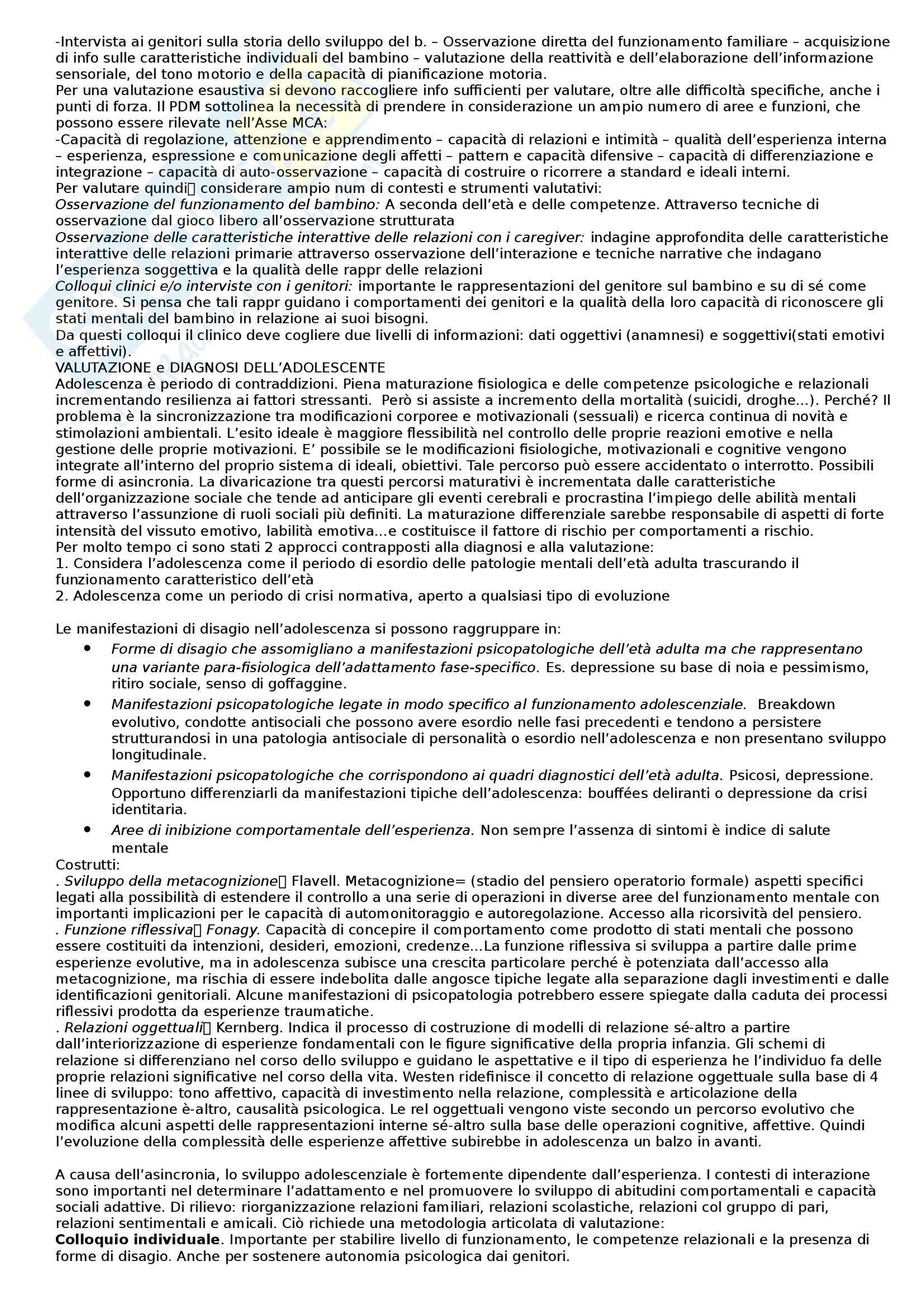 Riassunto esame Strumenti di Valutazione della Personalità, prof. Parolin, libro consigliato Dazzi Pag. 16