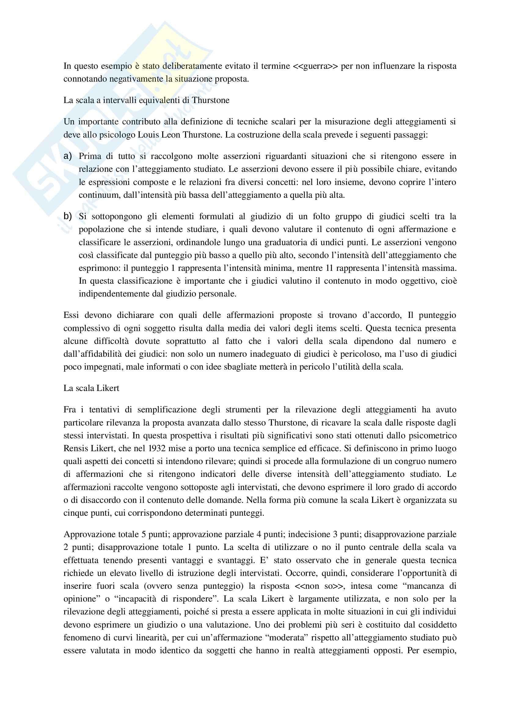 Riassunto esame Ricerca Sociale, prof. Mancarella, libro consigliato Metodologia e Tecniche della Ricerca Sociale, Toriano Pag. 21