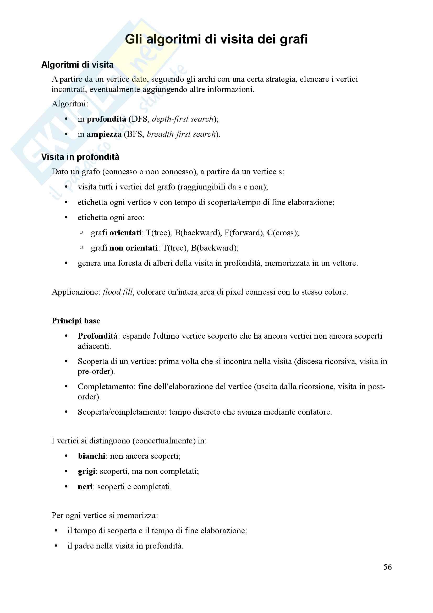 Algoritmi e Programmazione - Appunti Pag. 56