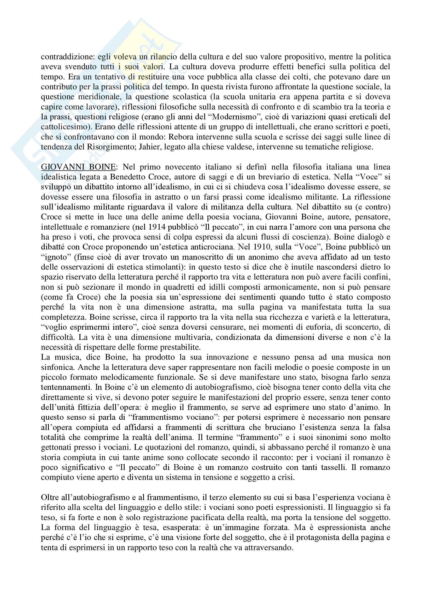 Letteratura italiana - Appunti Pag. 31