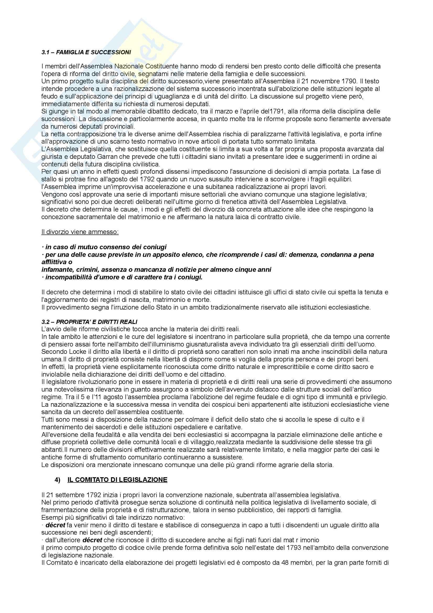 Storia del diritto medievale e moderno -  modelli giuridici a confronto Pag. 2