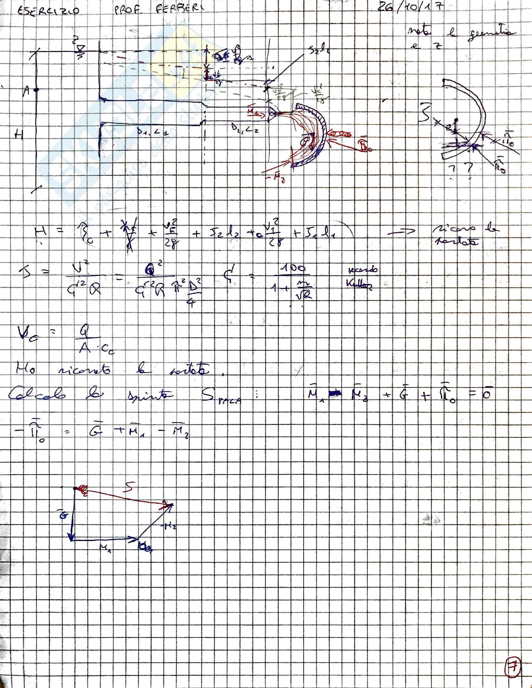 Esercizi idraulica Pag. 11