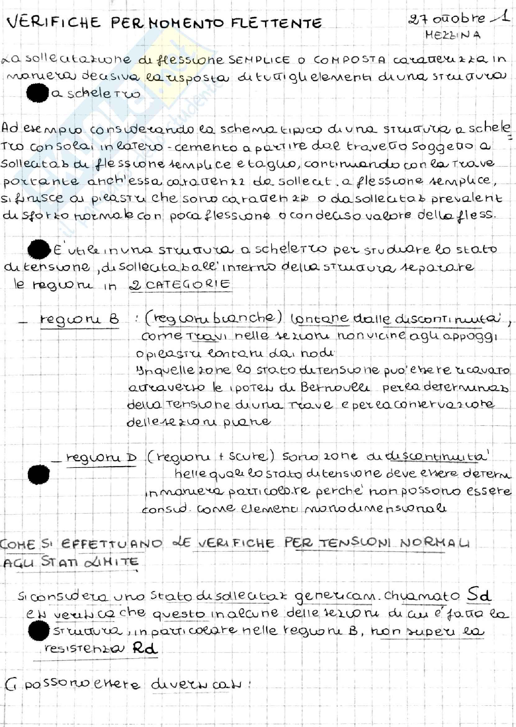 Appunti di Tecnica delle Costruzioni