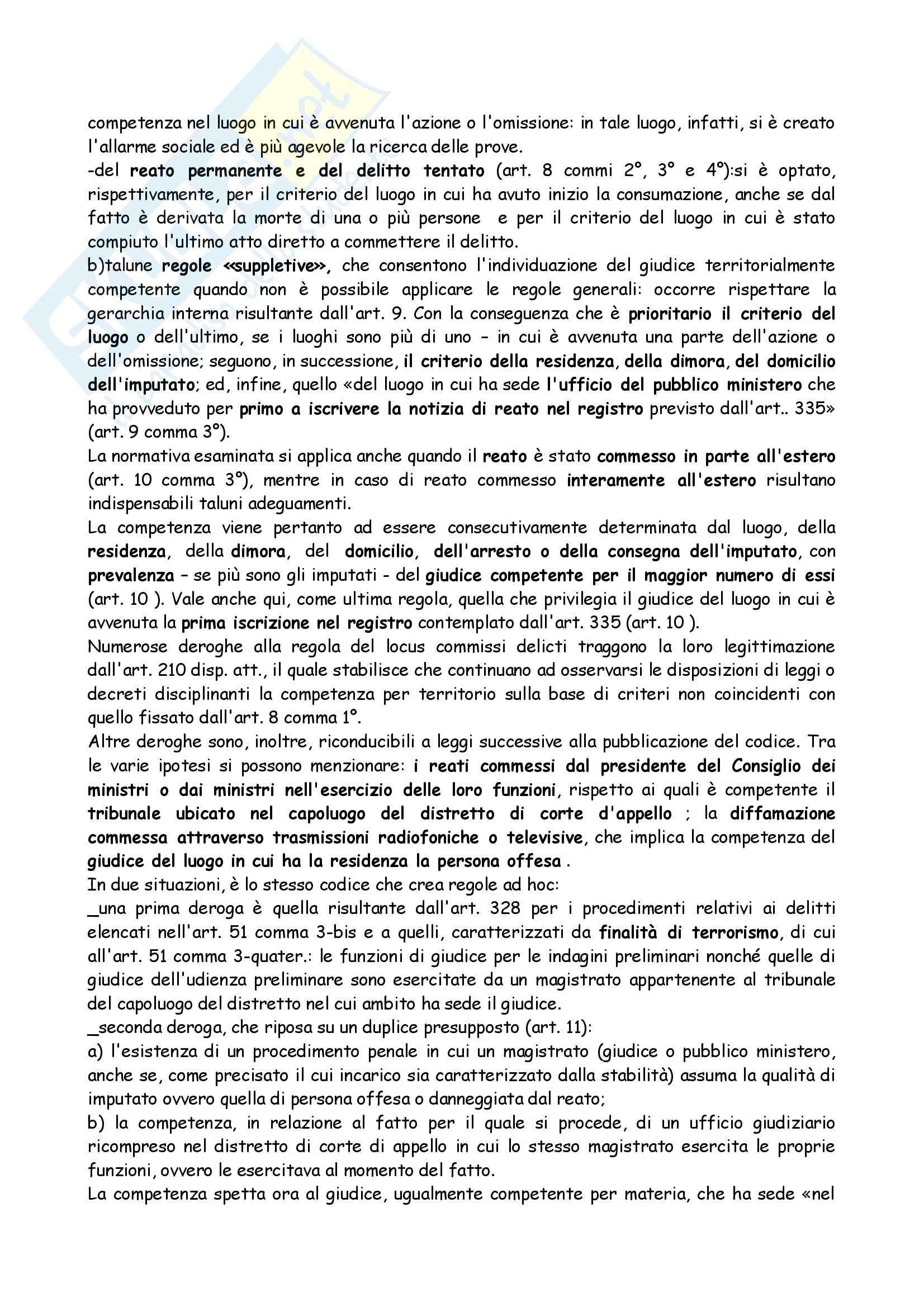 Riassunto esame Diritto, prof. Bargis, libro consigliato Compendio di Procedura Penale, Conso Grevi Pag. 6