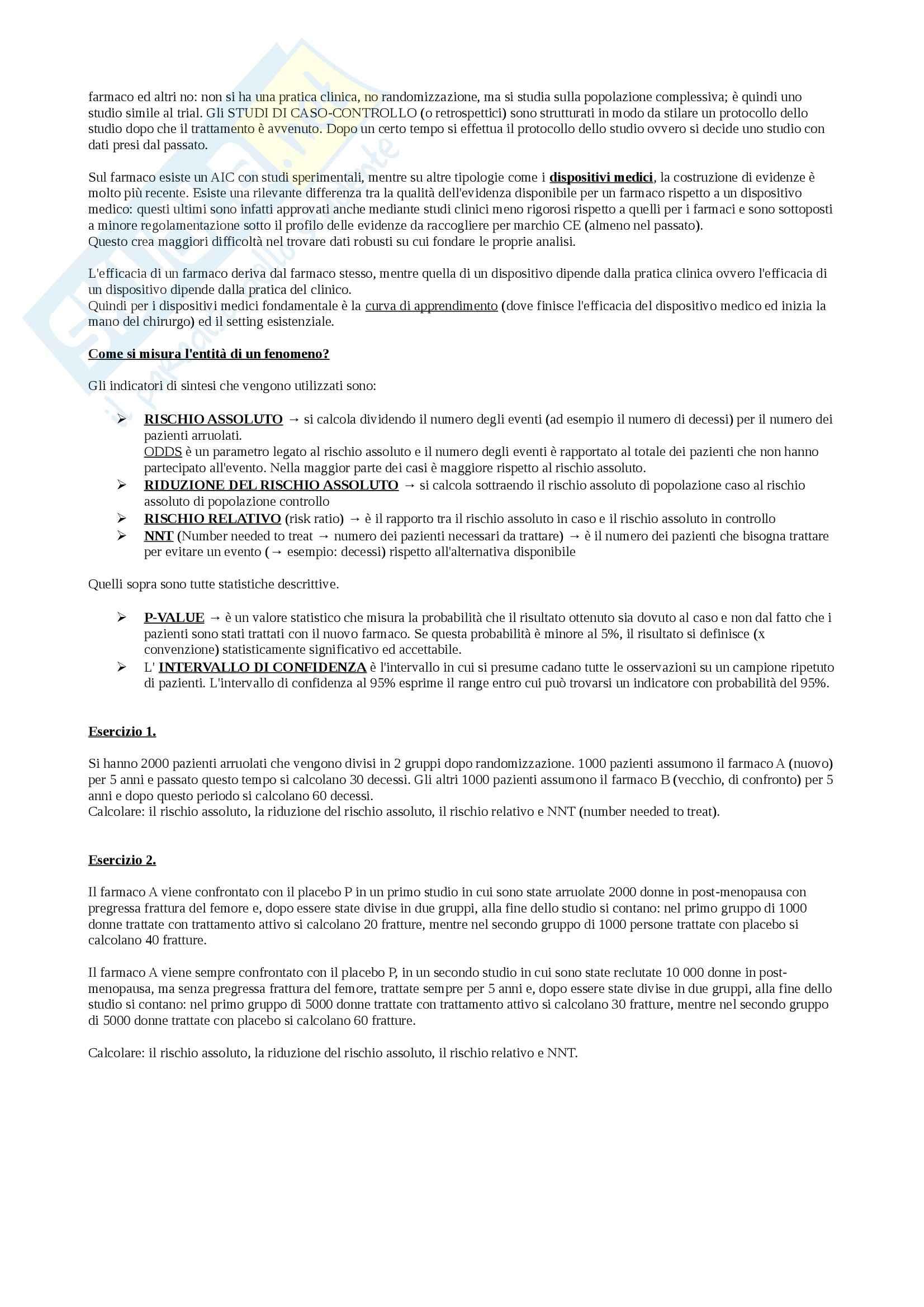 Organizzazione dell'azienda farmacia e farmacoeconomia - Appunti Pag. 36