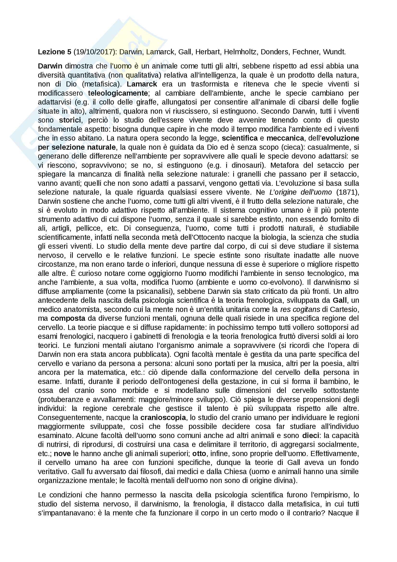 Fondamenti di Psicologia Generale (Prof.ssa Morabito) Mod. A Pag. 11