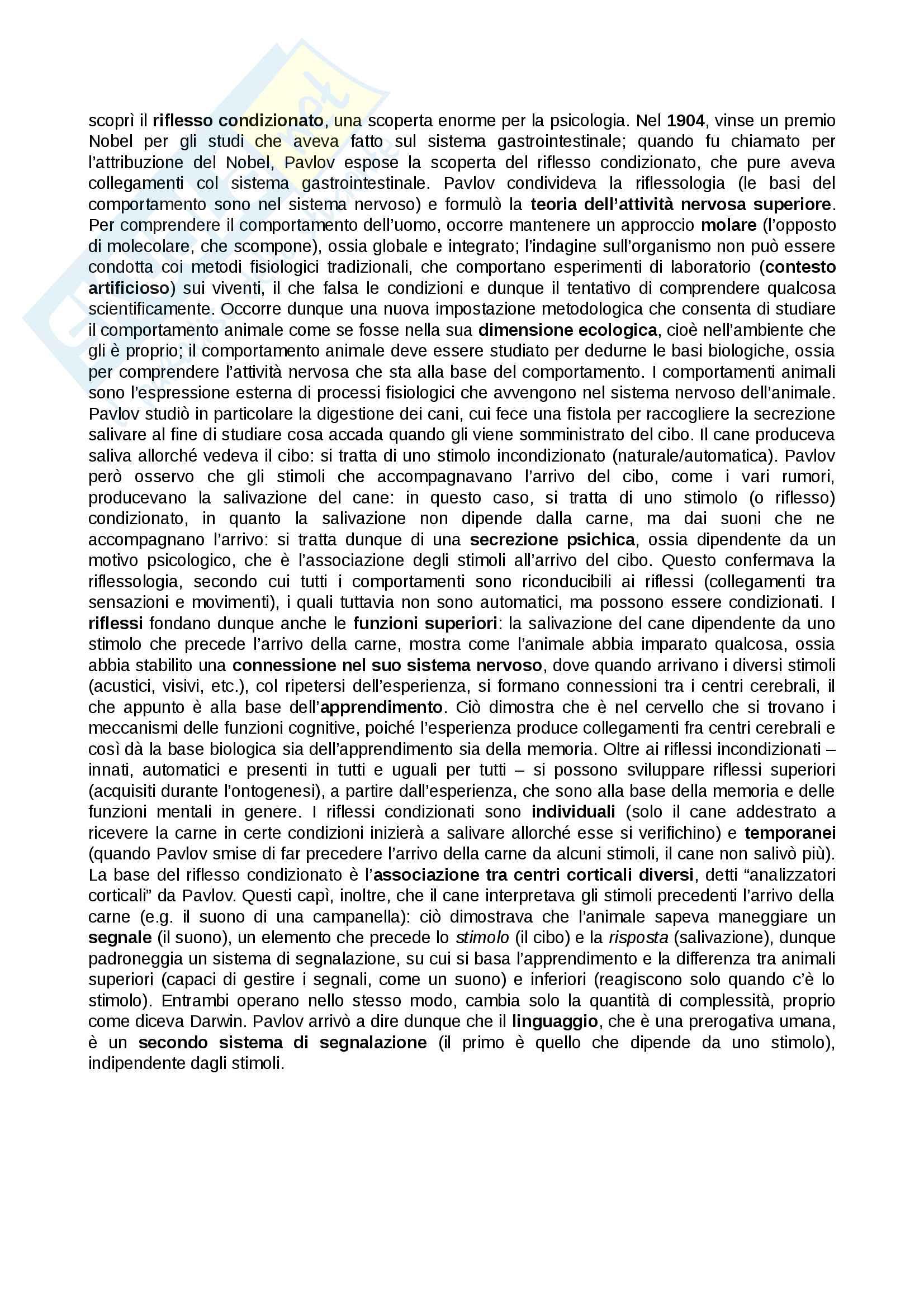 Fondamenti di Psicologia Generale (Prof.ssa Morabito) Mod. A Pag. 16