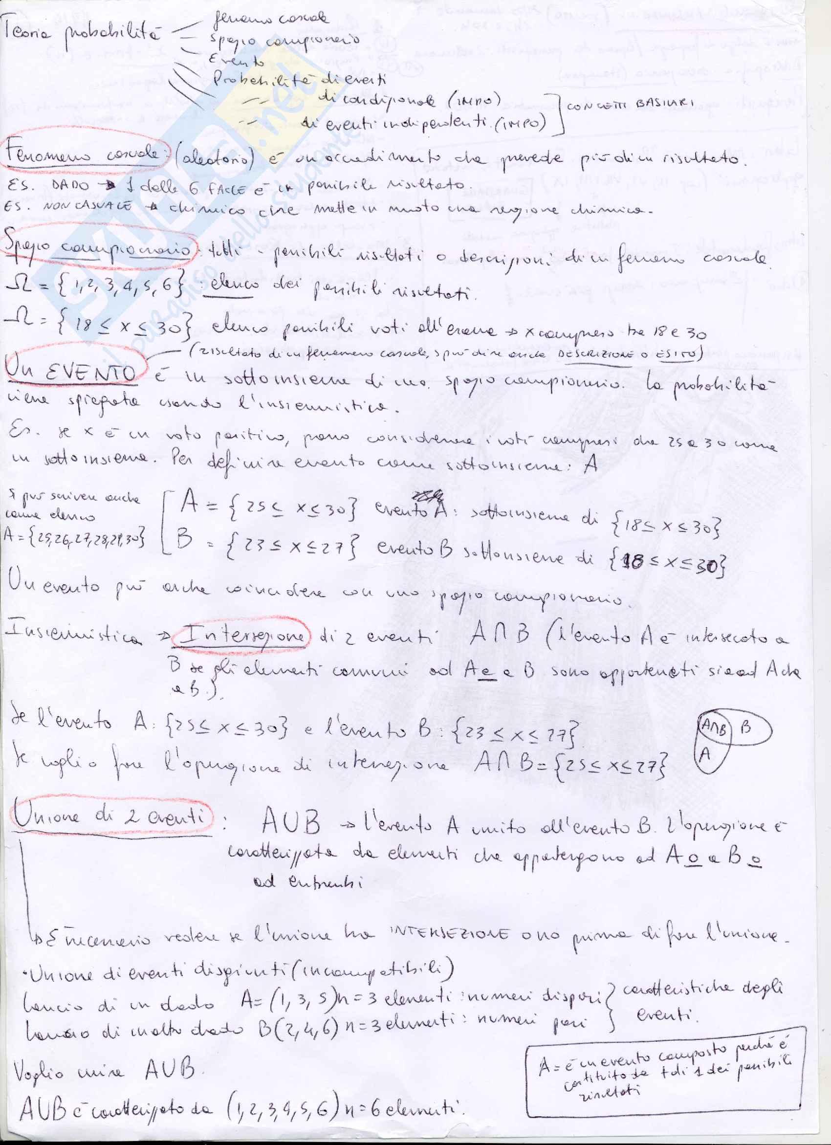 Metodologia della ricerca in ambito clinico, Mannarini, Psicologia, Appunti 129 pagine
