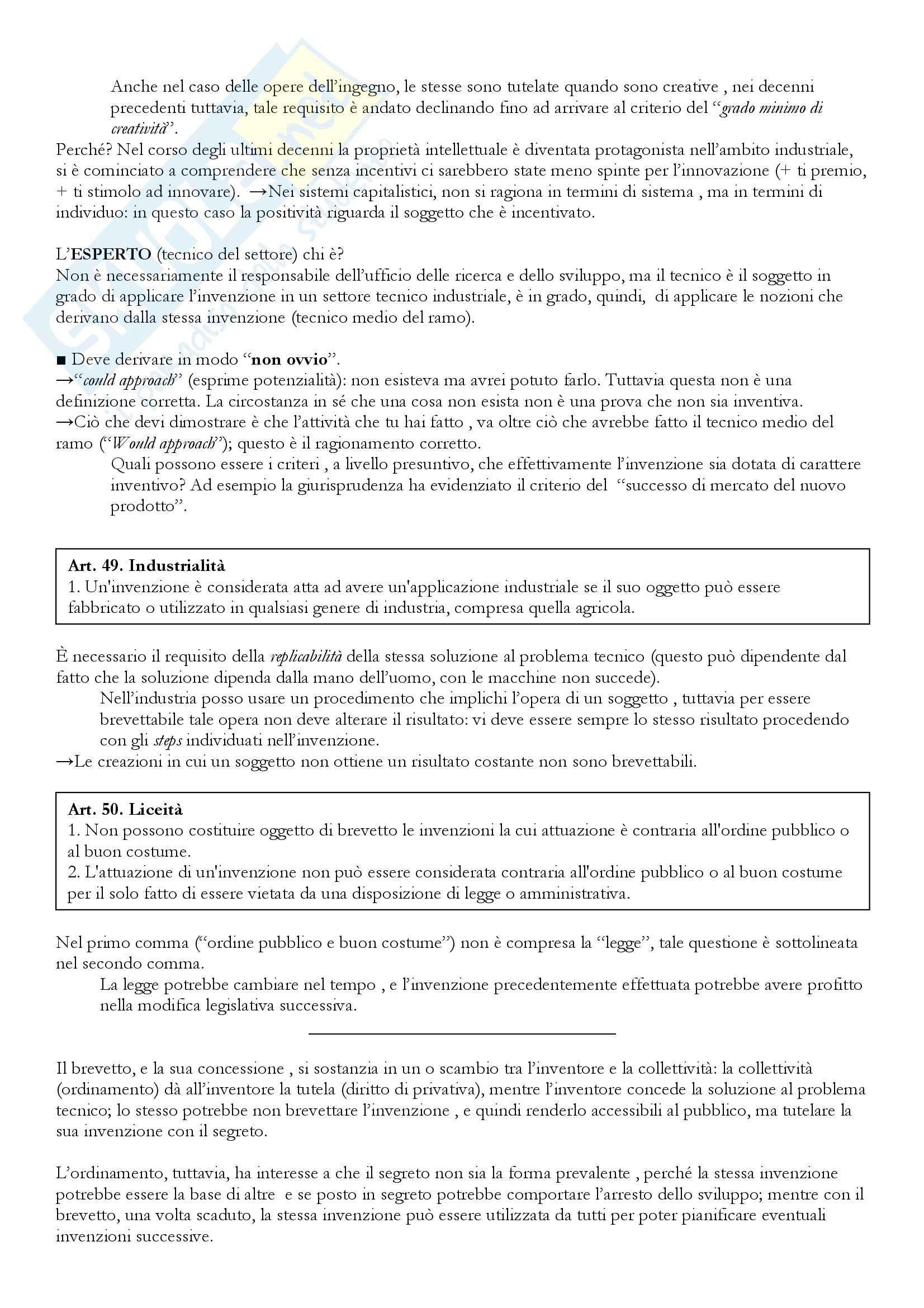 Diritto industriale - il diritto della proprietà intellettuale Pag. 31