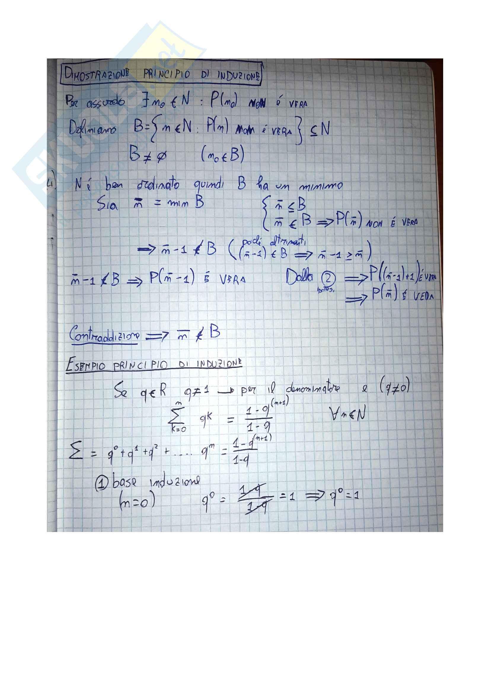 Appunti di analisi 1 sulle funzioni in R Pag. 11