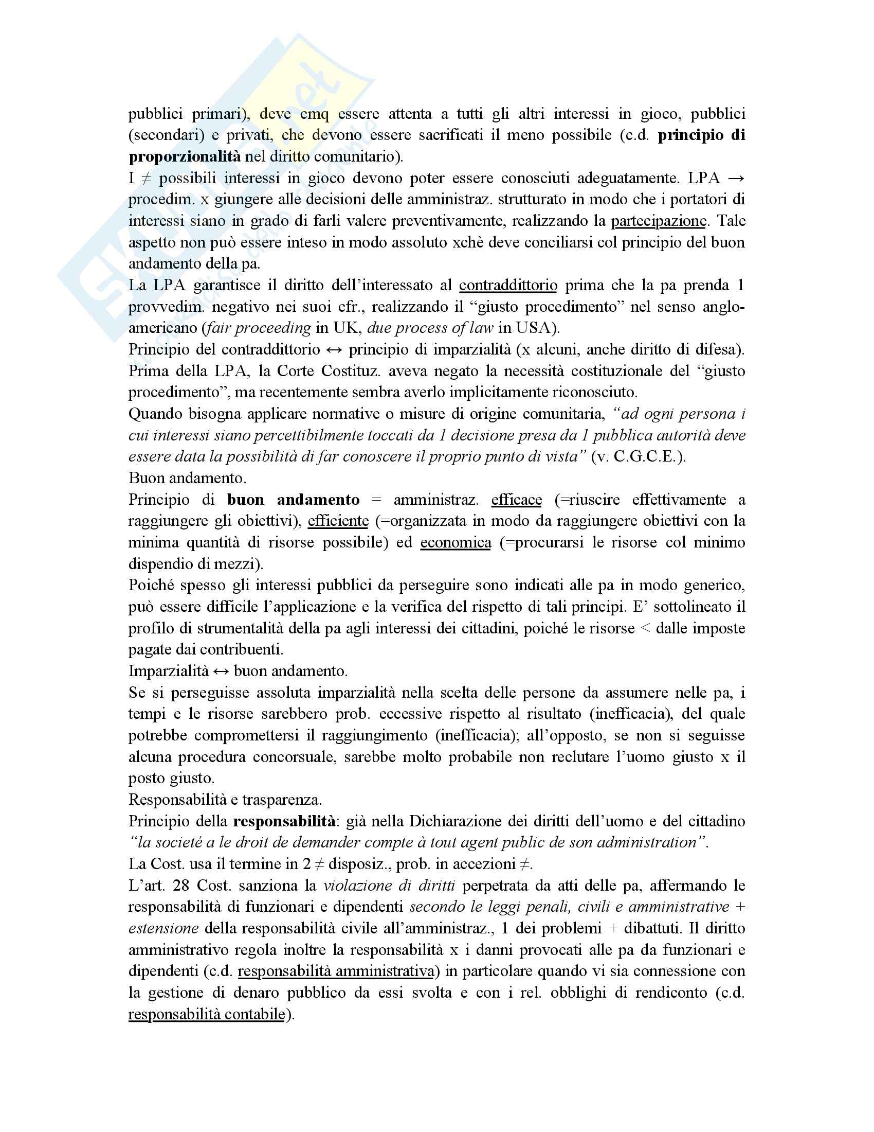 Riassunto esame diritto amministrativo, prof. Maccarrone, libro consigliato Diritto delle amministrazioni pubbliche, Sorace Pag. 11