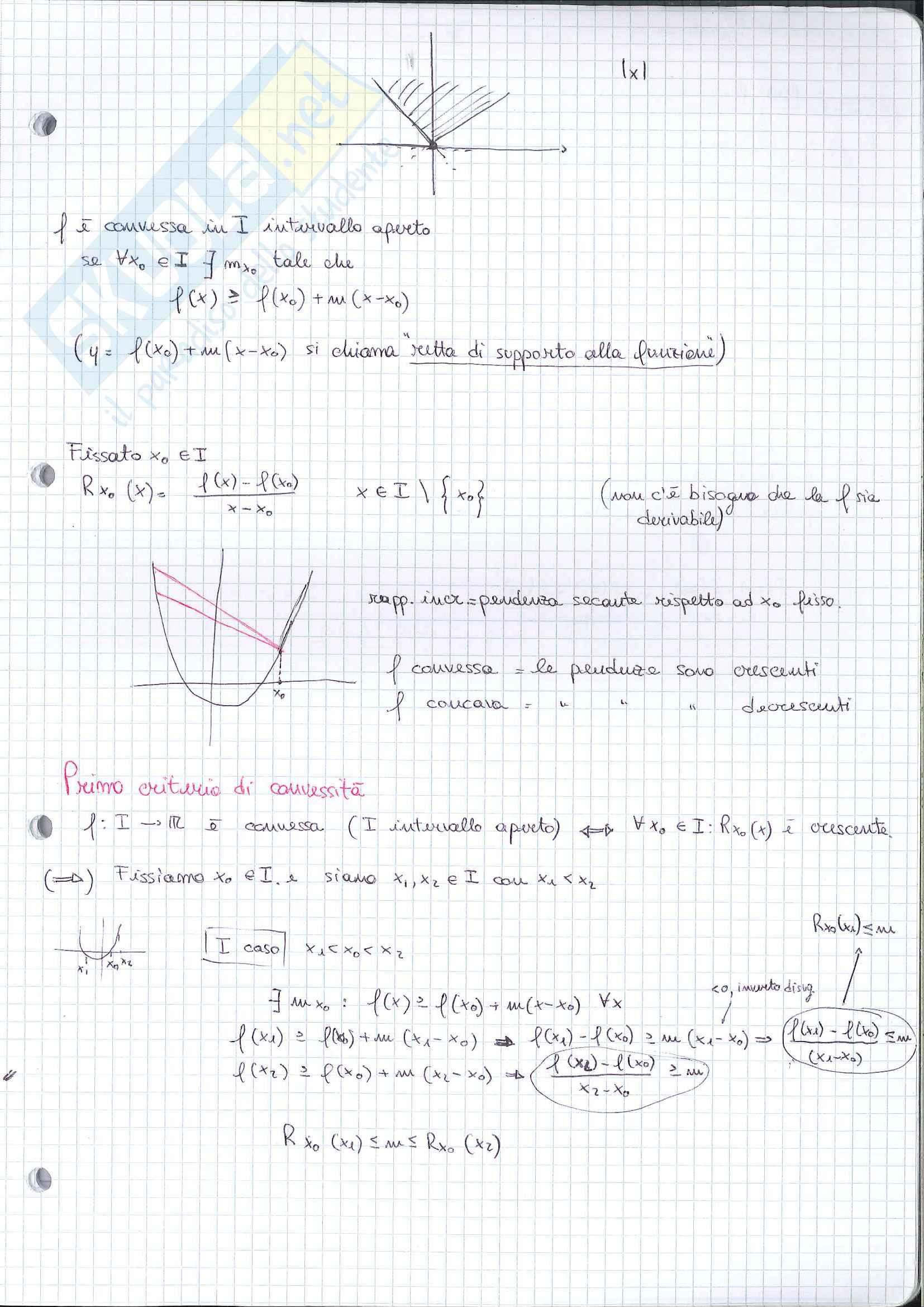 Analisi 1 - appunti seconda parte del programma Pag. 21