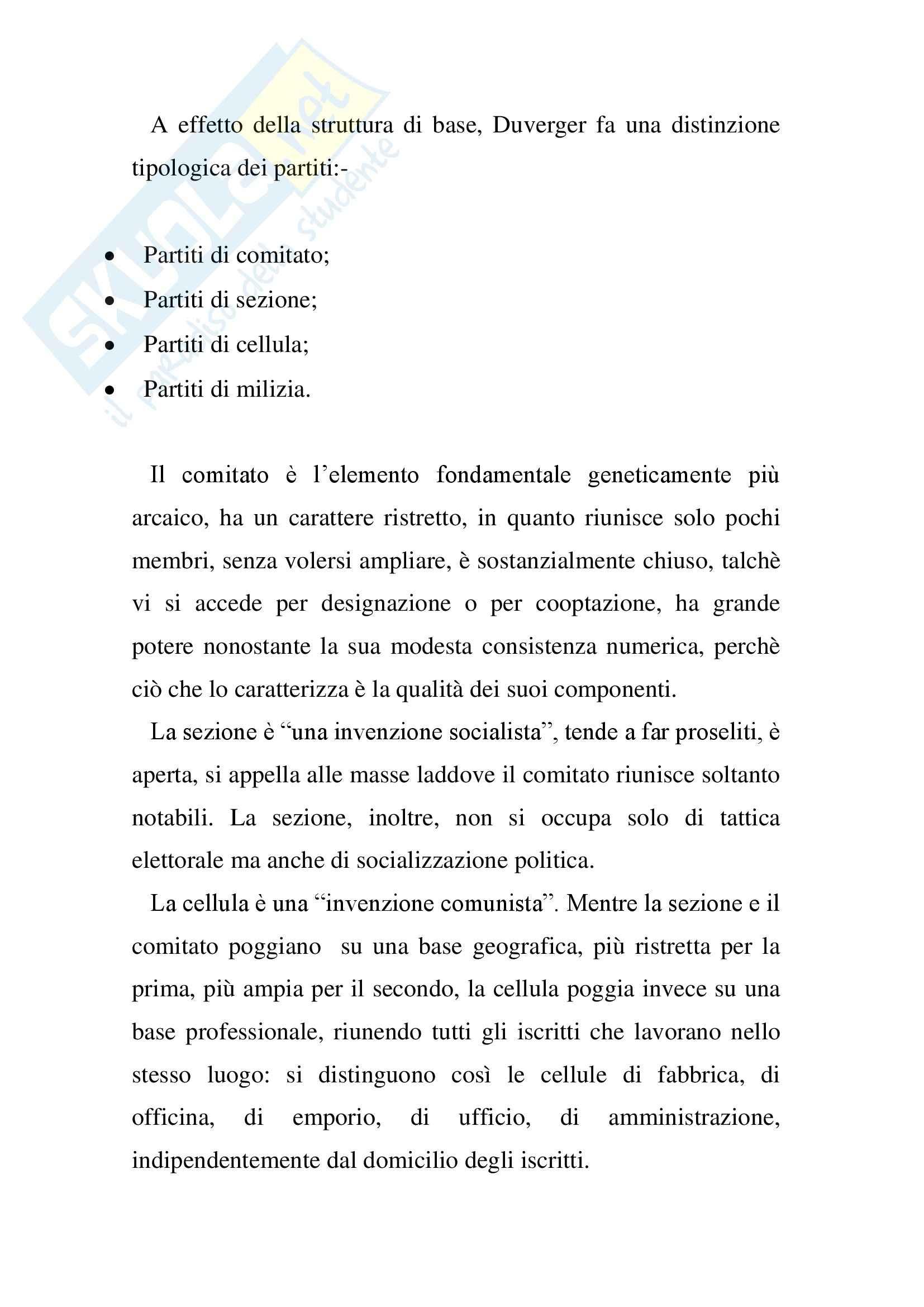 Riassunto esame Scienza Politica, prof. Feola, libro consigliato Lineamenti di Scienza Politica, Fisichella Pag. 21