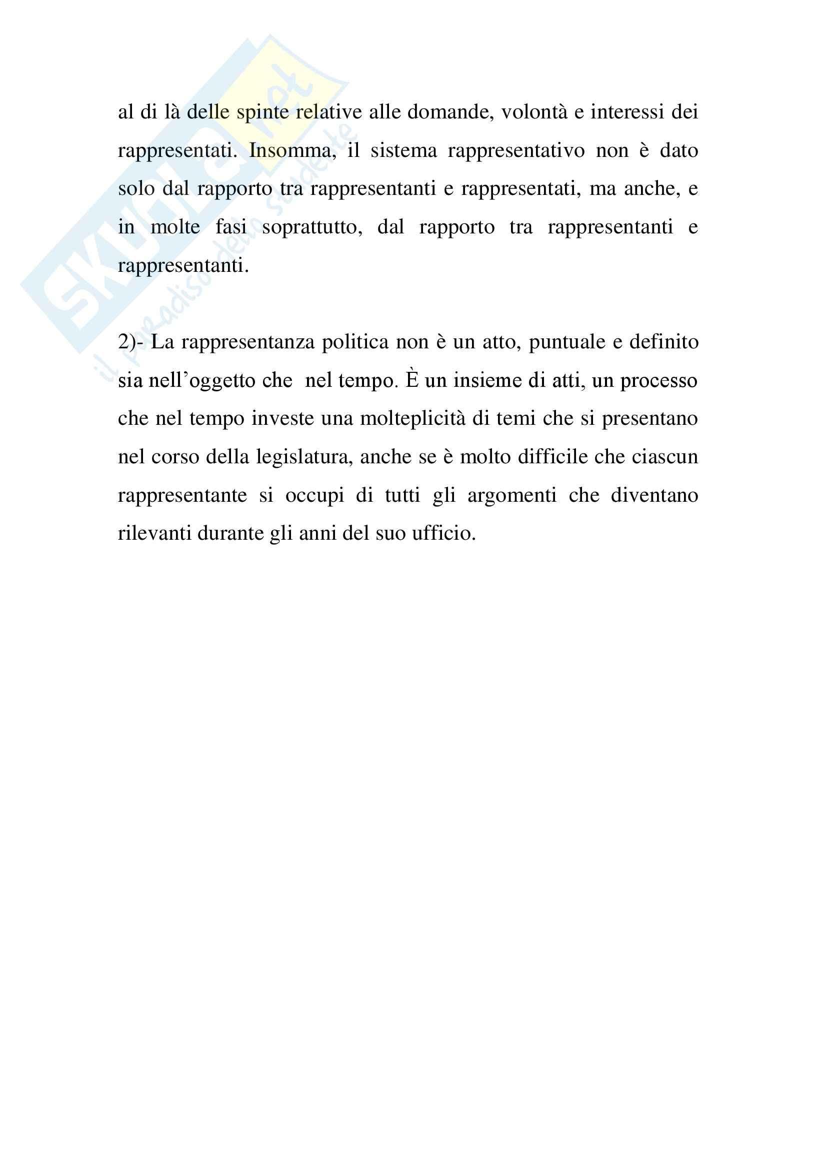 Riassunto esame Scienza Politica, prof. Feola, libro consigliato Lineamenti di Scienza Politica, Fisichella Pag. 71