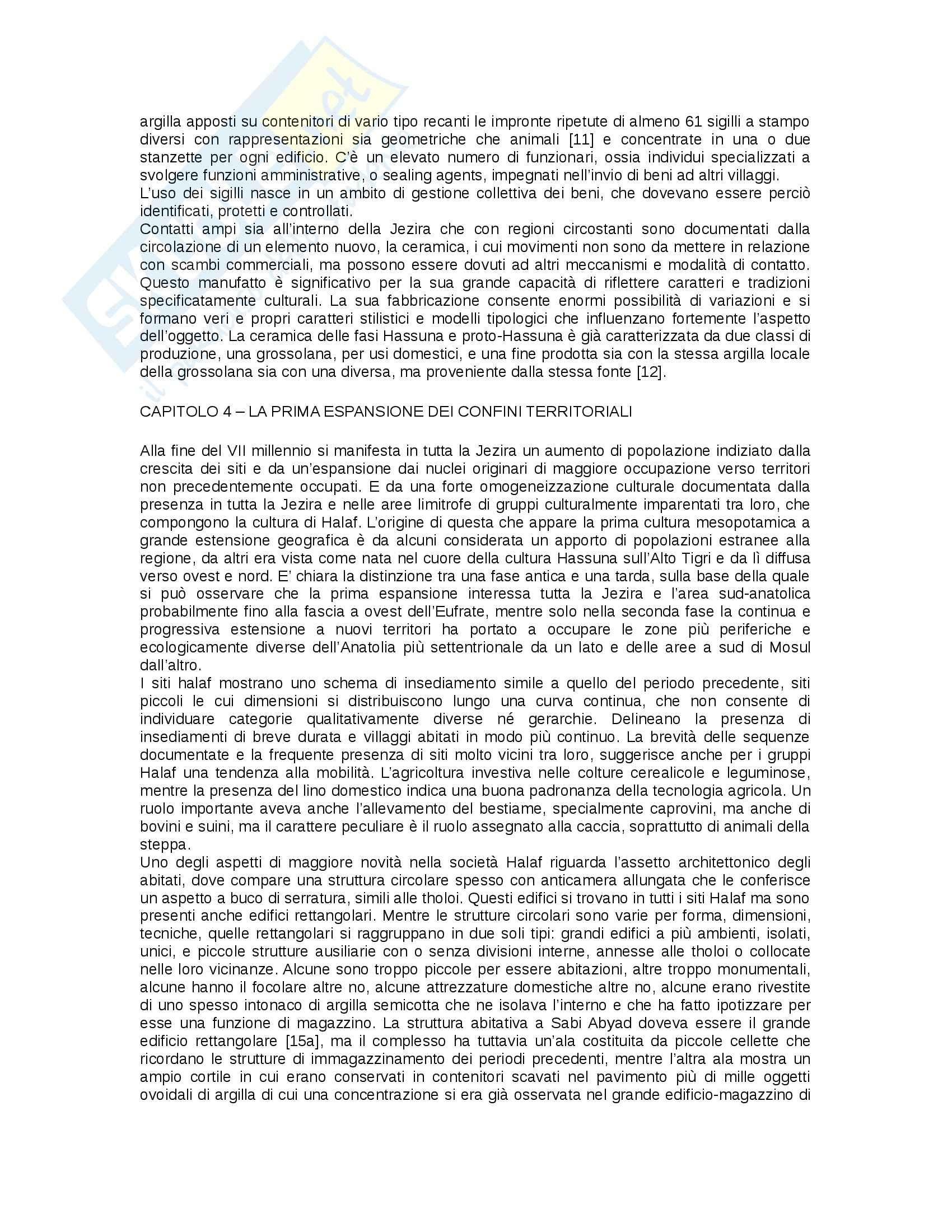 Riassunto esame Preistoria del vicino Oriente prof. Frangipane, libro consigliato La nascita dello Stato nel Vicino oriente, Liverani Pag. 6