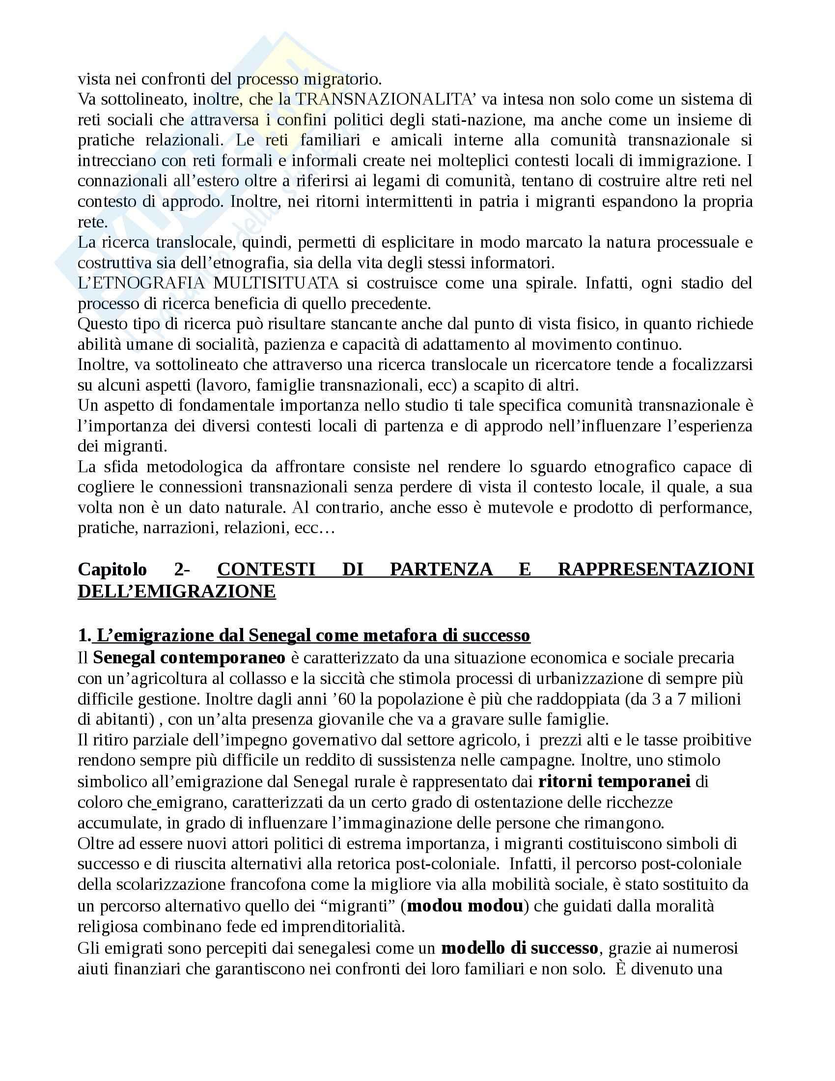 Riassunto esame Antropologia, prof. Riccio, libro consigliato Toubar e vu cumpra Pag. 6
