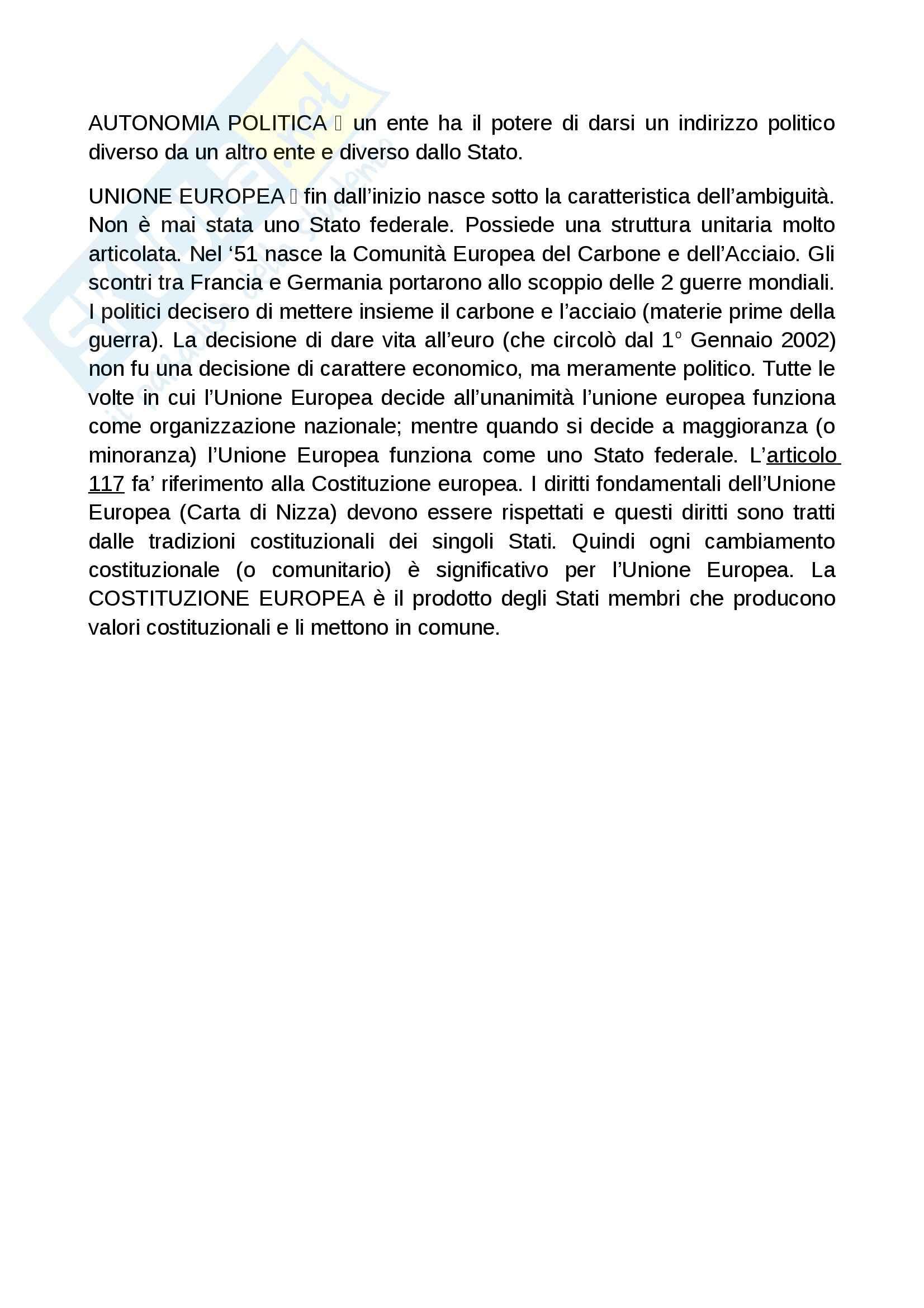 Lezioni, Diritto costituzionale I Pag. 11