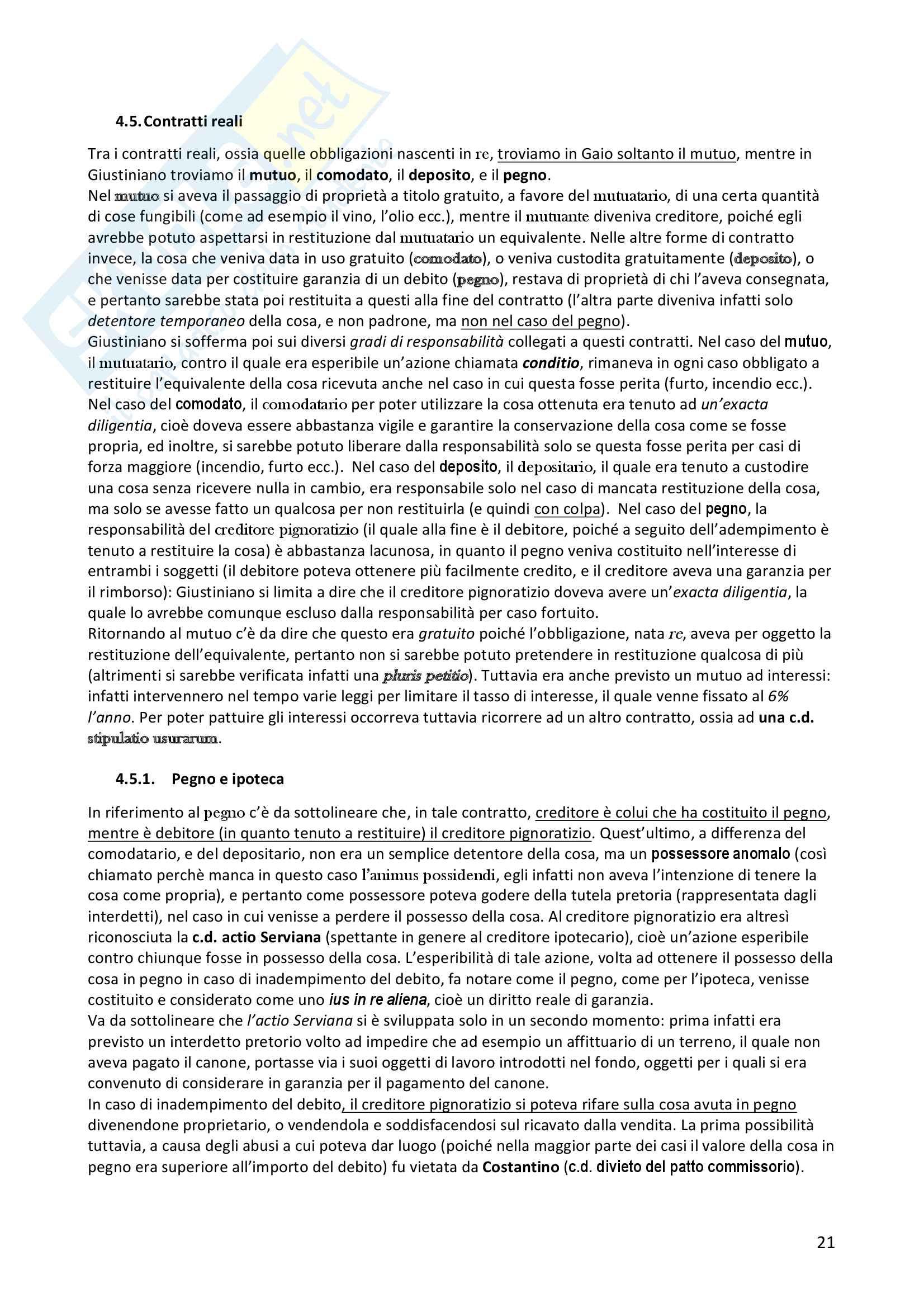 Diritto romano privato Pag. 21