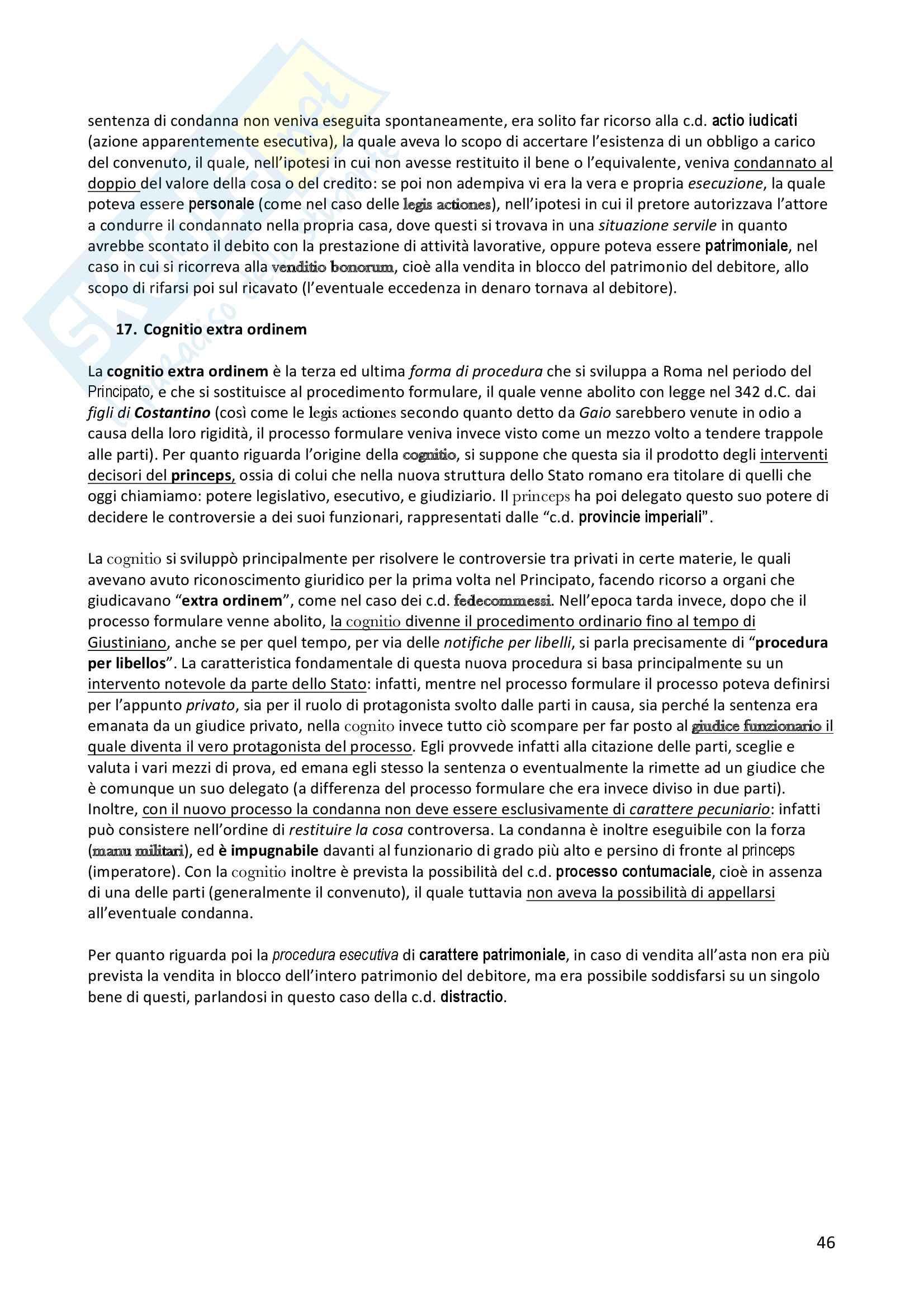 Diritto romano privato Pag. 46