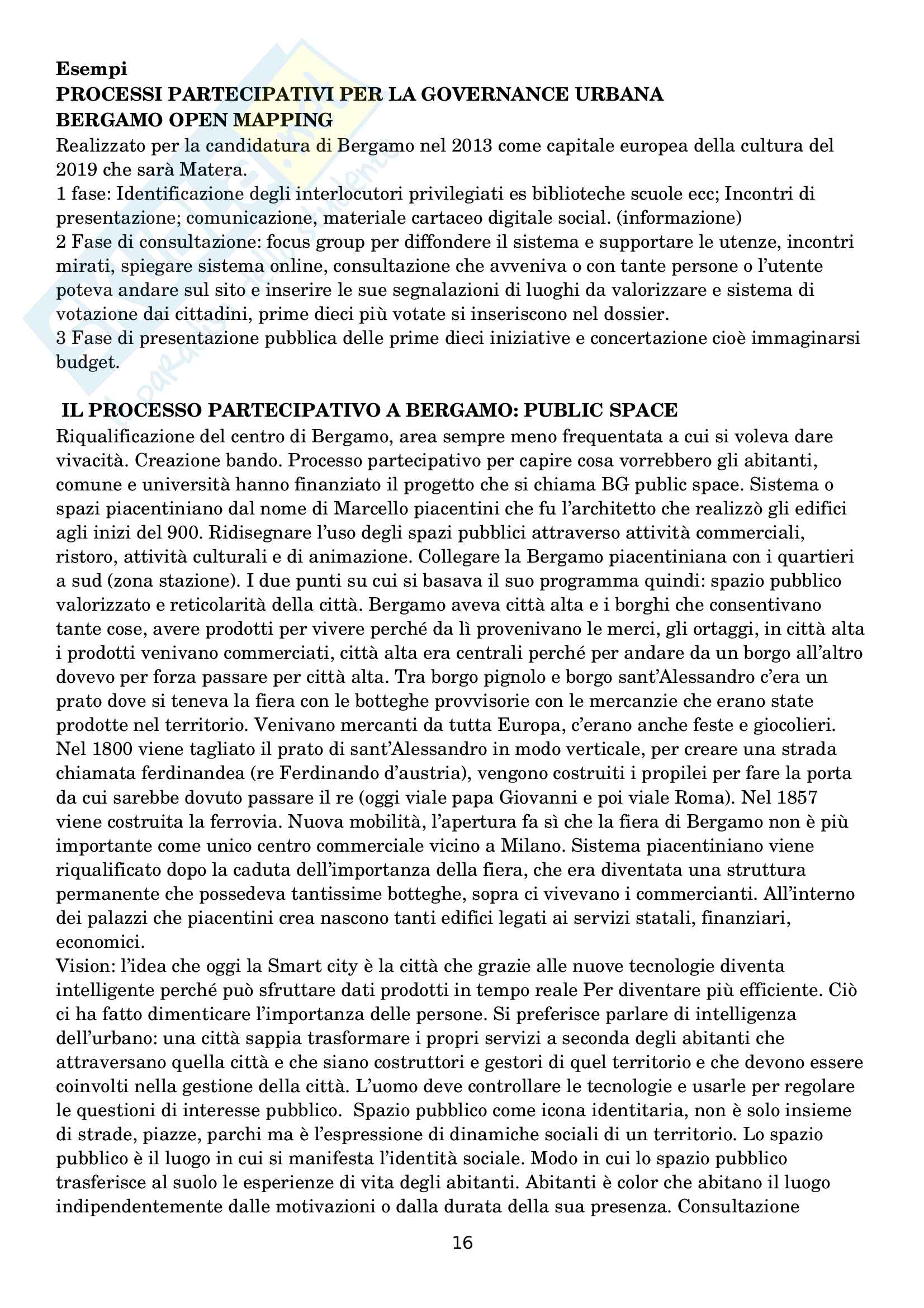 Governance territoriale Pag. 16