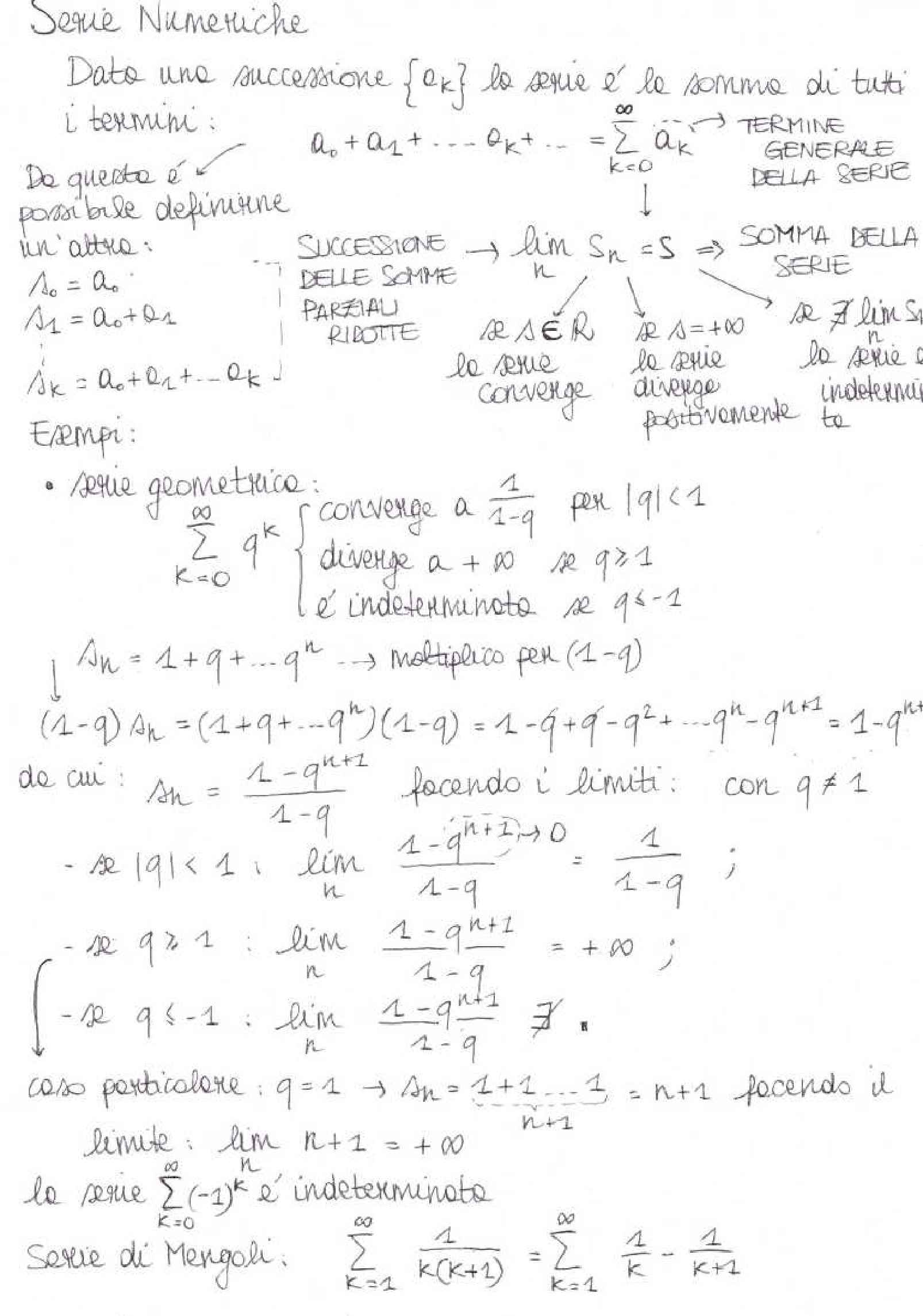Analisi matematica II - Appunti