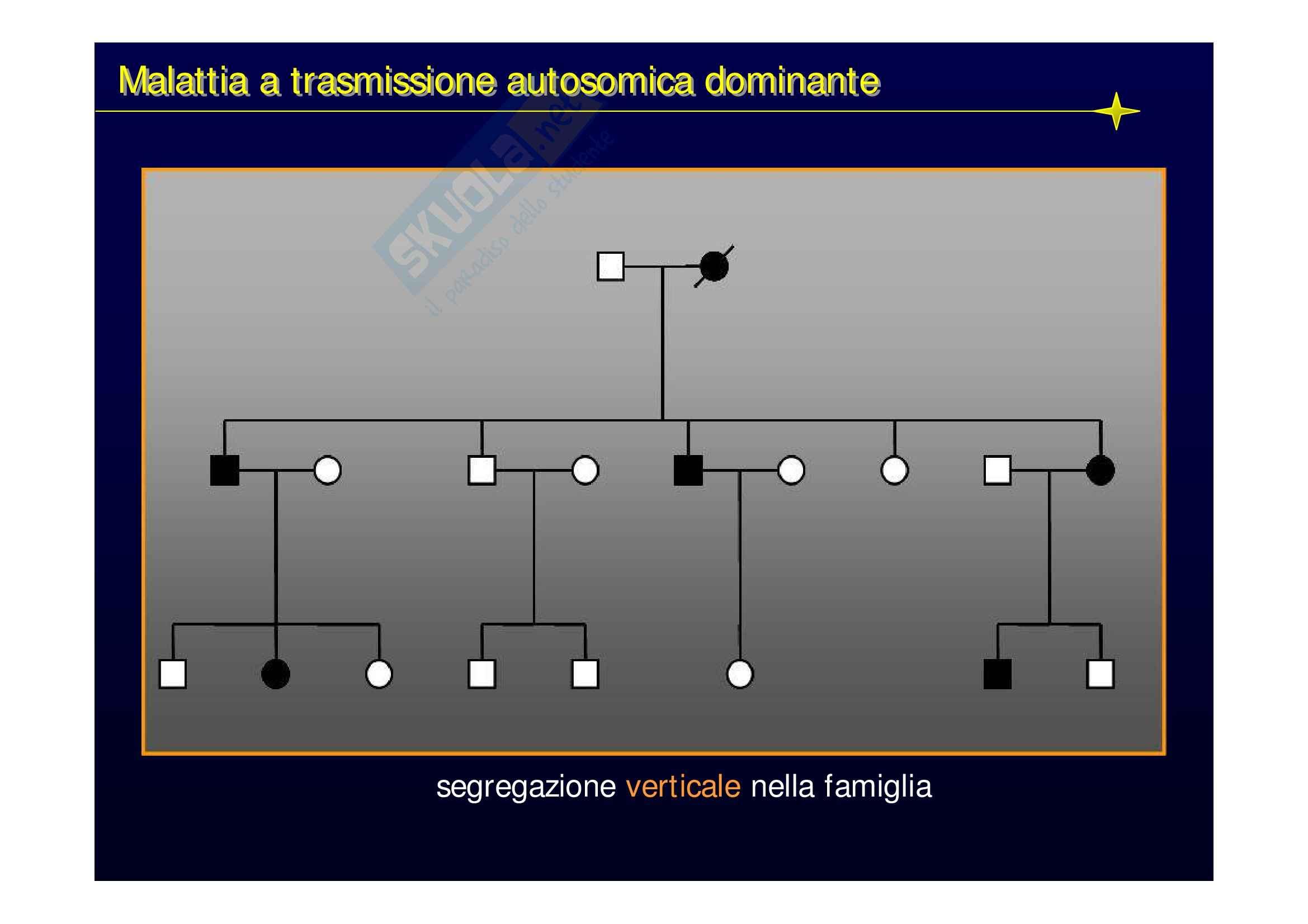 Genetica medica - lezioni Pag. 31