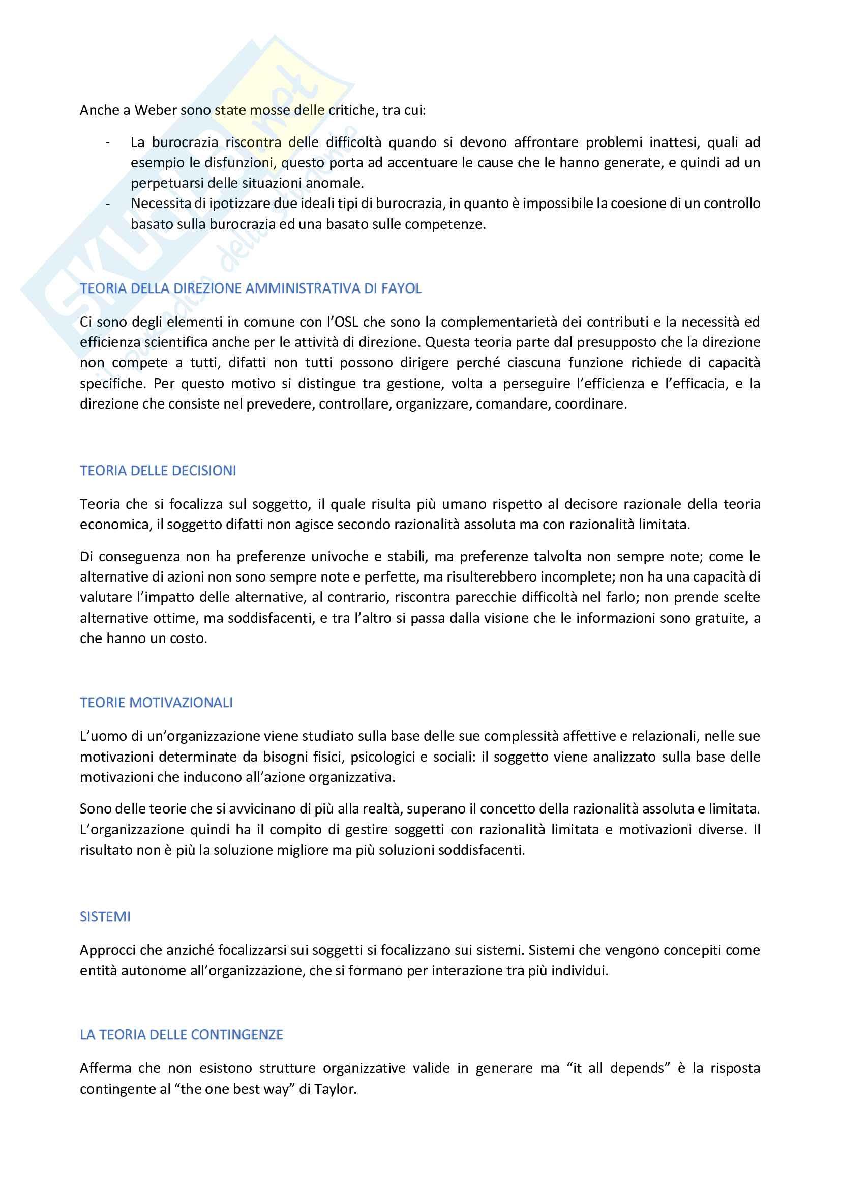 Organizzazione aziendale Pag. 2