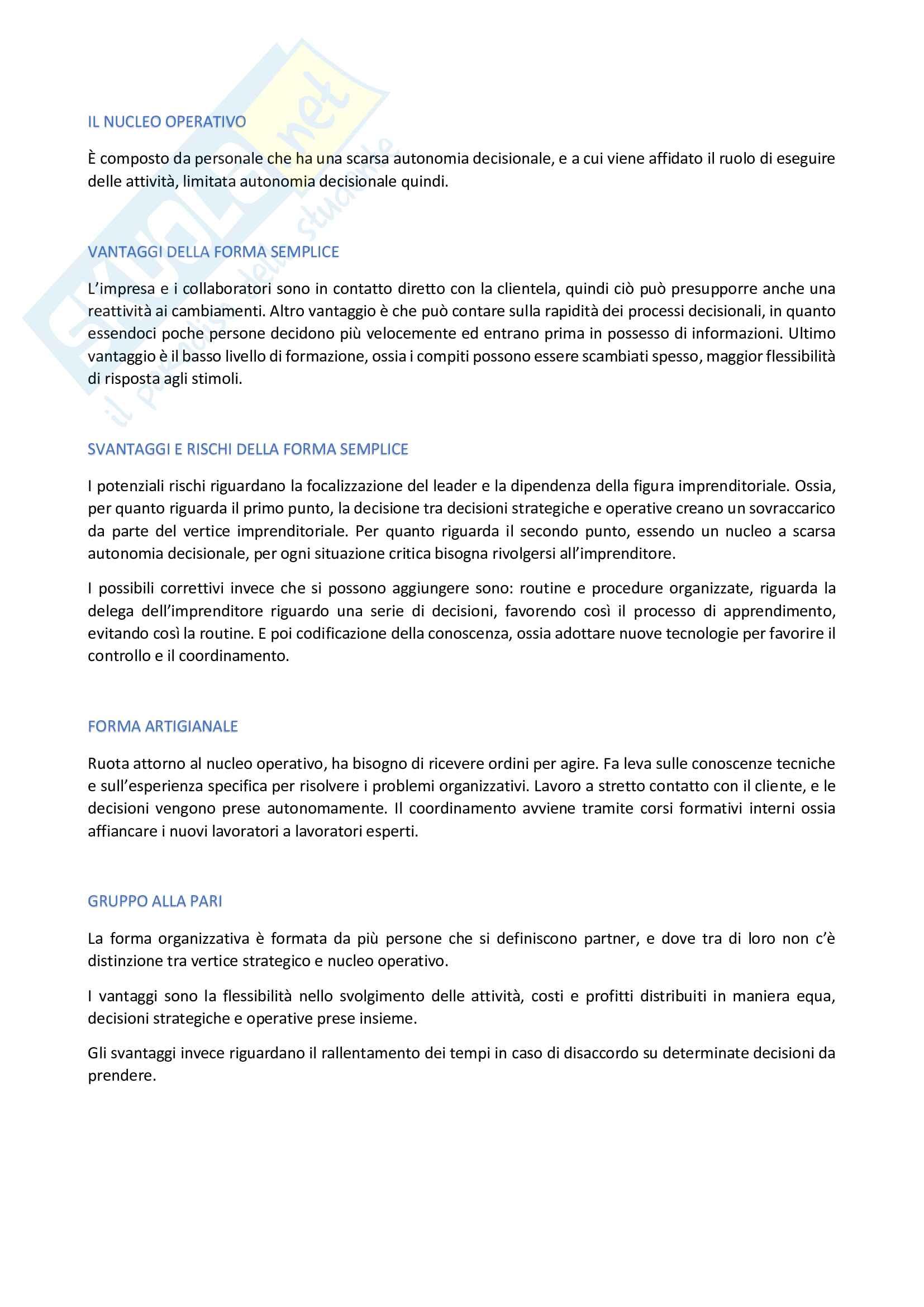 Organizzazione aziendale Pag. 21
