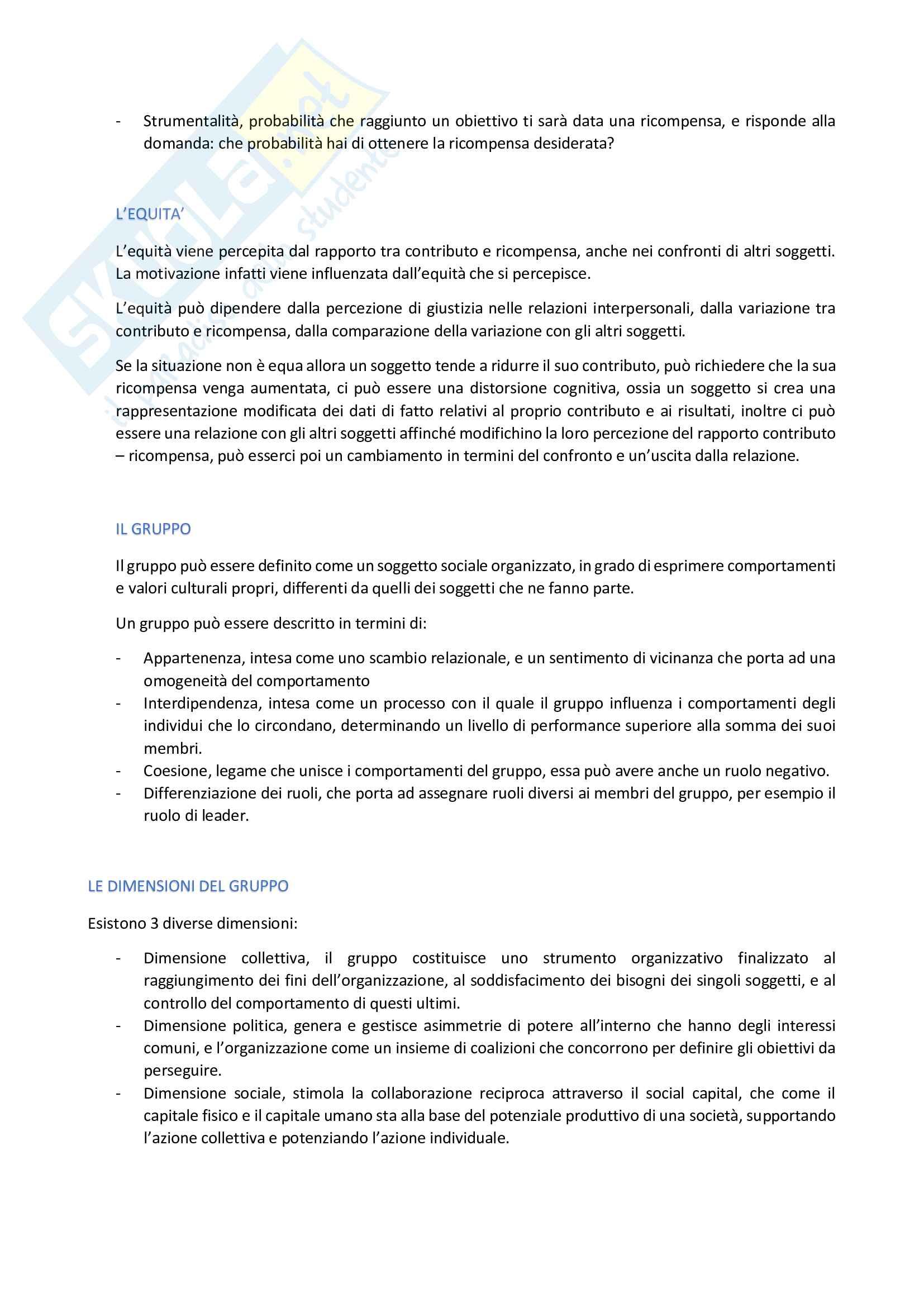 Organizzazione aziendale Pag. 6