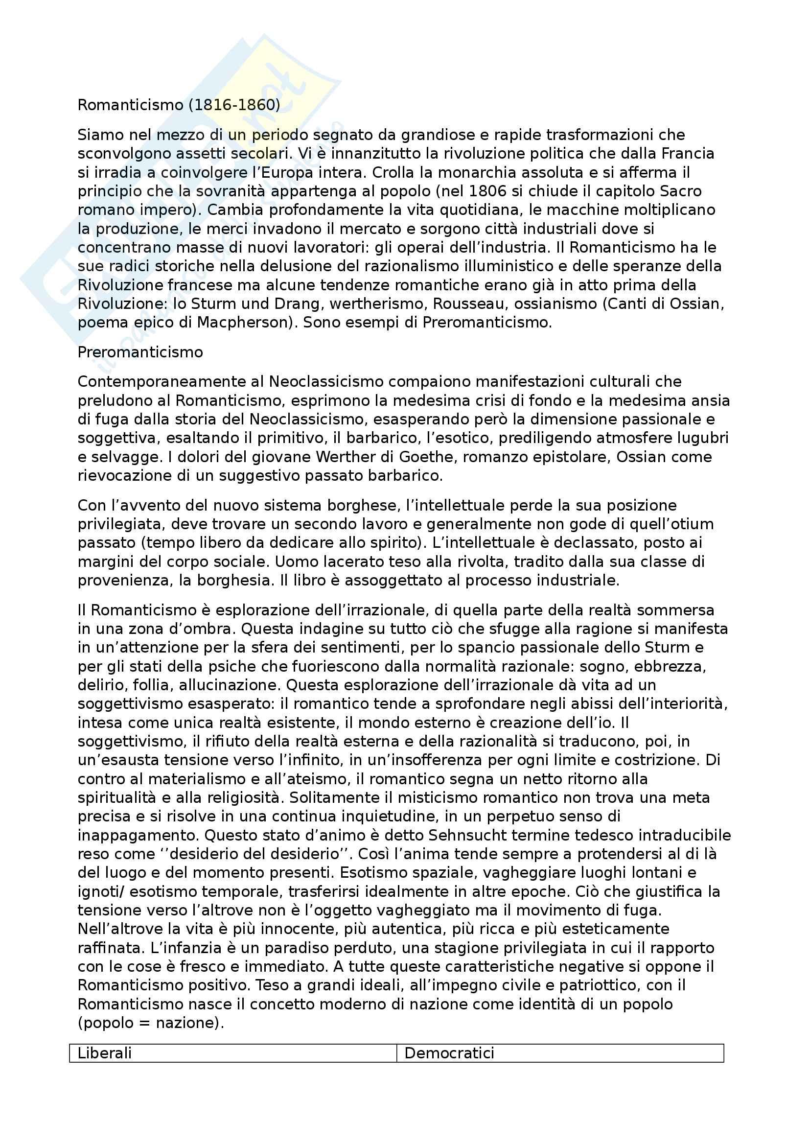 Riassunto esame letteratura italiana, prof. Battistini, libro consigliato Il piacere dei testi, Baldi (1, 2, 3, 4, 5) Pag. 16