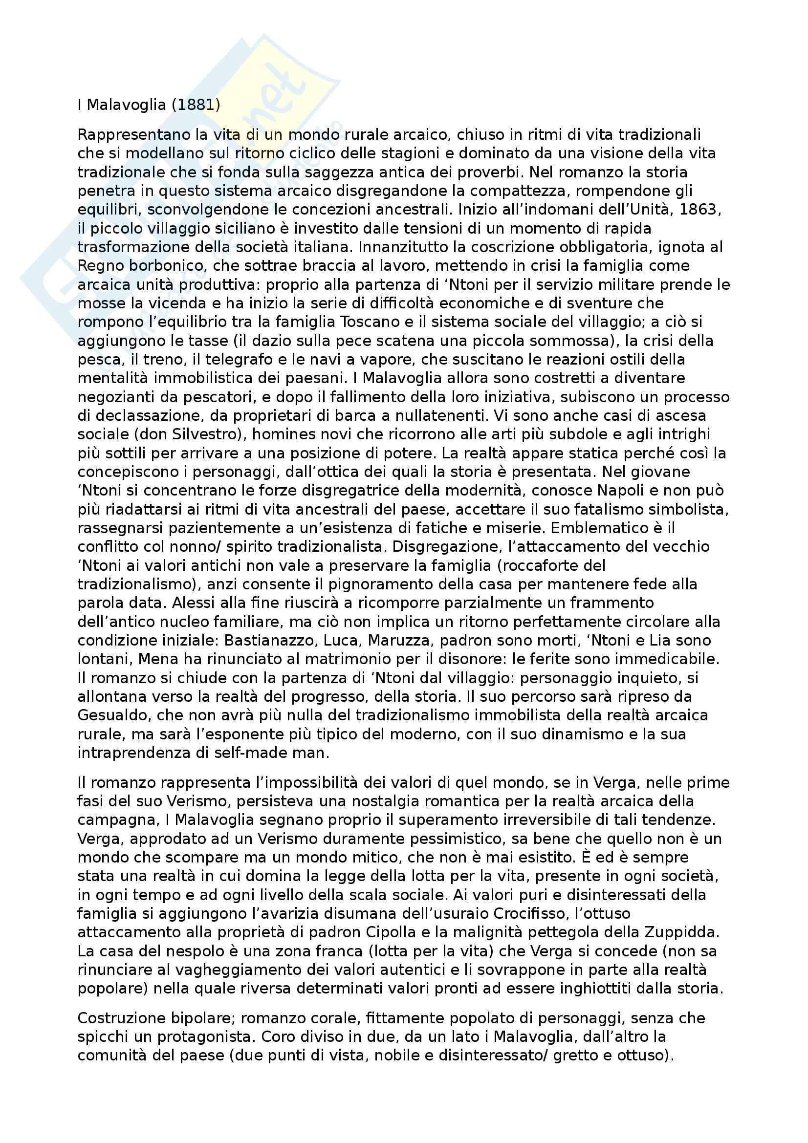 Riassunto esame letteratura italiana, prof. Battistini, libro consigliato Il piacere dei testi, Baldi (1, 2, 3, 4, 5) Pag. 21