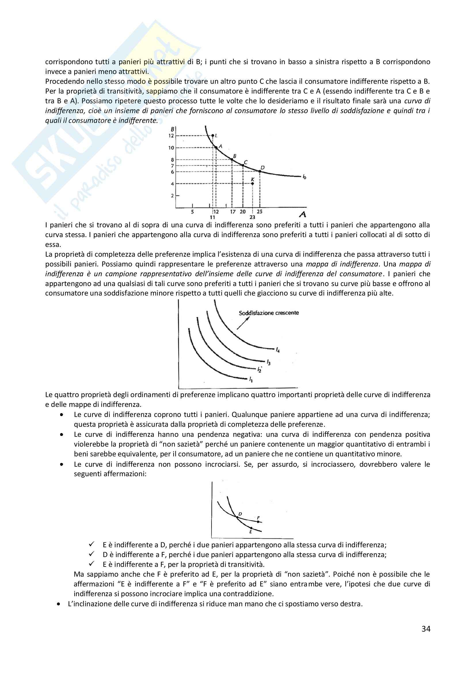 Appunti microeconomia prof Ciccone Pag. 21
