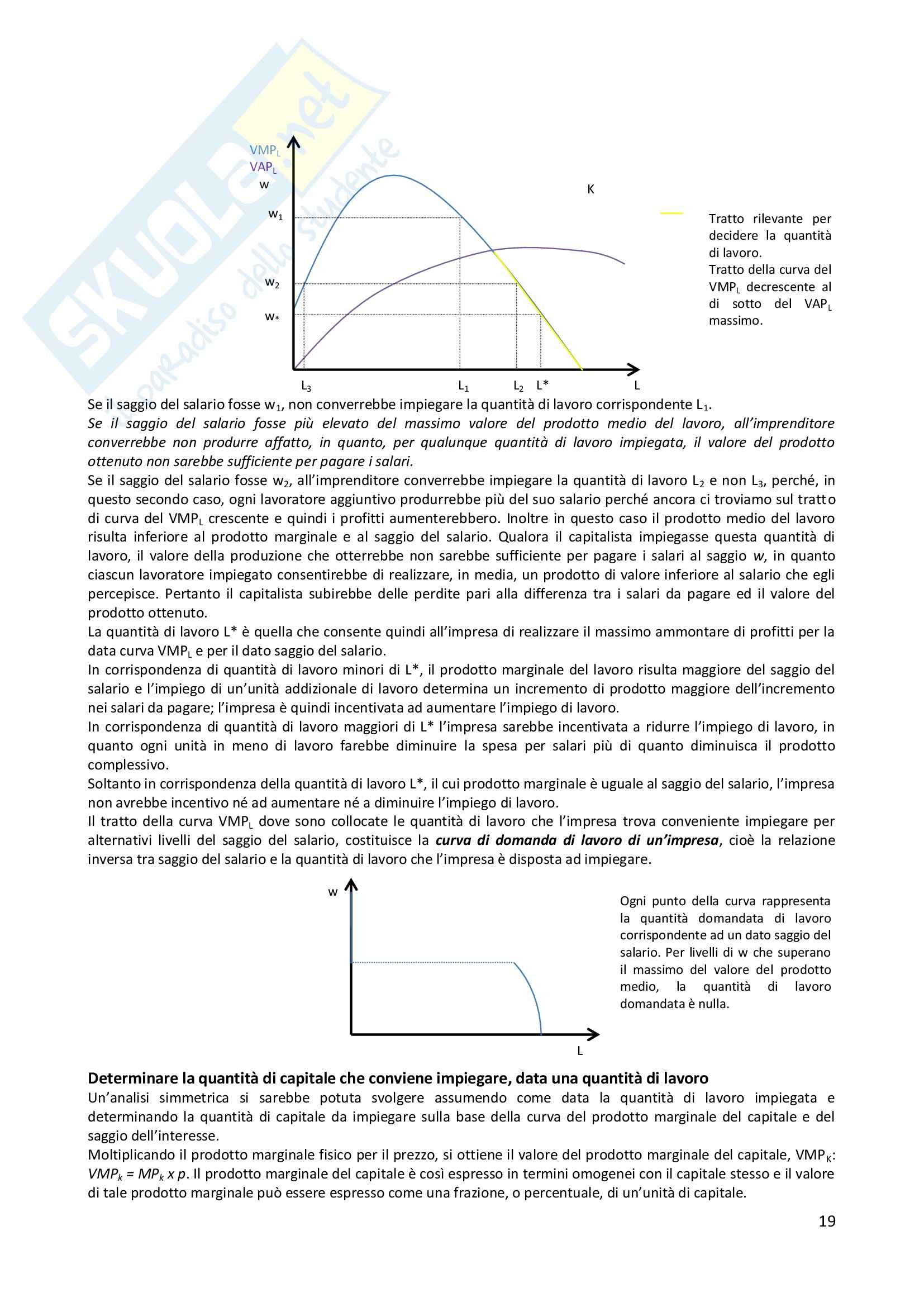 Appunti microeconomia prof Ciccone Pag. 6